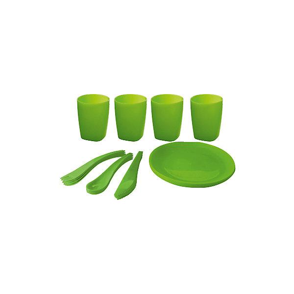 Мини-набор для пикника и барбекю на 4 персоны, Plastic CentreДетская посуда<br>Мини-набор для пикника и барбекю на 4 персоны, Plastic Centre<br><br>Характеристики:<br><br>• Материал: пластик<br>• Цвет: зеленый<br>• В комплекте: тарелка, 4 стакана, столовые приборы<br>• Количество человек: 4<br><br>Этот удобный набор для пикника имеет в комплекте все, что может понадобиться для загородной поездки.  В нем имеются наборы на 6 персон, а сам он выполнен из высококачественного пластика, который безопасен, легко моется и устойчив к царапинам. По этой причине данный набор подходит для многократного использования. В комплекте имеются: тарелка, 4 стакана, столовые приборы.<br><br>Мини-набор для пикника и барбекю на 4 персоны, Plastic Centre можно купить в нашем интернет-магазине.<br><br>Ширина мм: 305<br>Глубина мм: 205<br>Высота мм: 100<br>Вес г: 473<br>Возраст от месяцев: 216<br>Возраст до месяцев: 1188<br>Пол: Унисекс<br>Возраст: Детский<br>SKU: 5545705