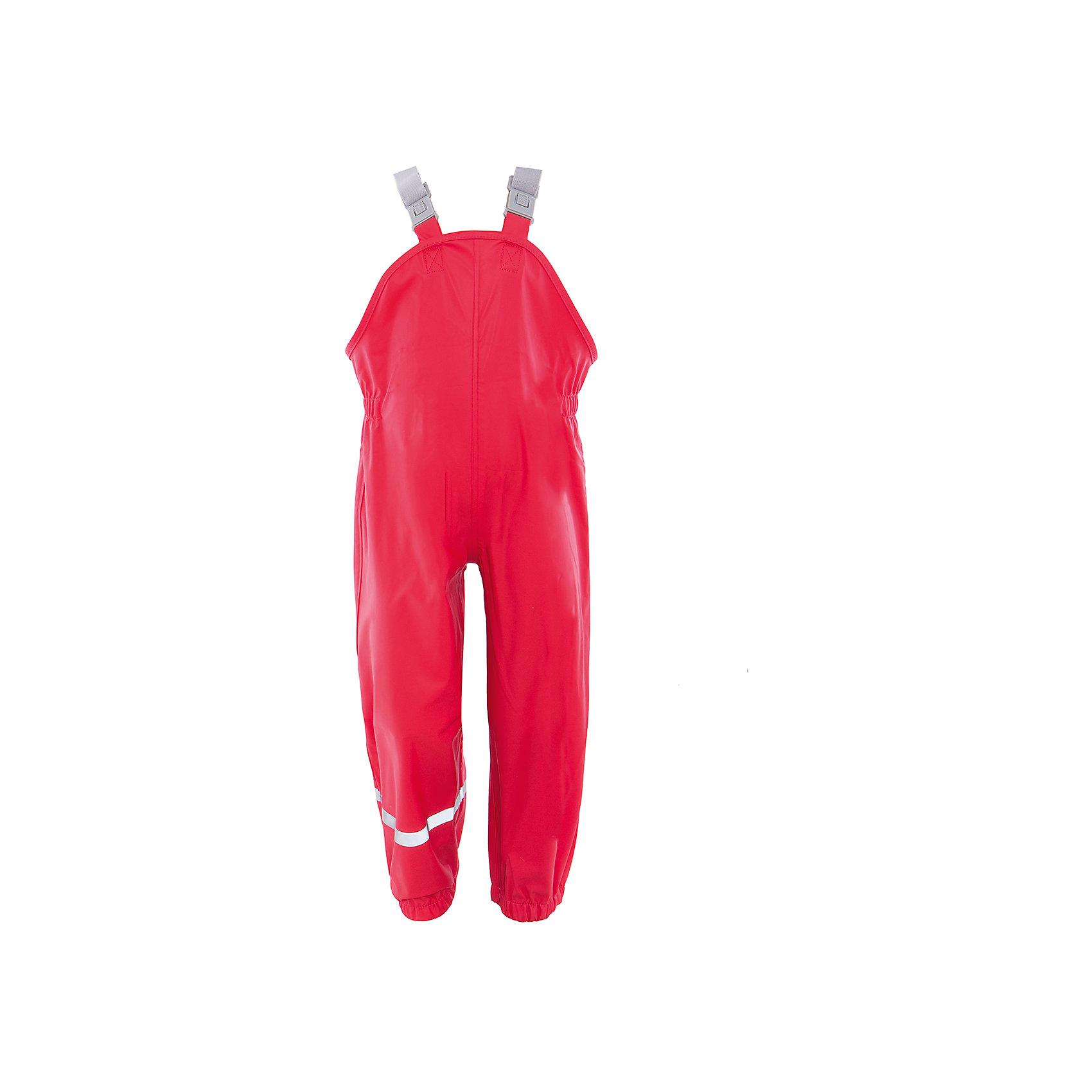 Непромокаемый полукомбинезон для девочки Color KidsВерхняя одежда<br>Характеристики товара:<br><br>• цвет: красный<br>• состав: 50% полиэстер, 50% полиуретан<br>• регулируемые подтяжки<br>• без утеплителя<br>• швы проклеены<br>• водонепроницаемый <br>• ветрозащитный<br>• светоотражающие детали<br>• эластичные манжеты<br>• эластичная талия<br>• сезон: демисезон<br>• температурный режим: +10 до +20<br>• страна производства: Китай<br>• страна бренда: Дания<br><br>Такой удобный комбинезон сделан из непромокаемого легкого материала, поэтому отлично подойдет для дождливой погоды в межсезонье. <br><br>Одежду от датского бренда Color Kids уже успели оценить многие потребители по всему миру! Она удобная и красивая, если линейки, разработанные специально для детей. <br><br>Для производства изделий используются только безопасные, качественные материалы и фурнитура. Подарите своем у ребенку модную и комфортную одежду от известного бренда!<br><br>Полукомбинезон для девочки от датского бренда Color Kids (Колор кидз) можно купить в нашем интернет-магазине.<br><br>Ширина мм: 215<br>Глубина мм: 88<br>Высота мм: 191<br>Вес г: 336<br>Цвет: красный<br>Возраст от месяцев: 48<br>Возраст до месяцев: 60<br>Пол: Женский<br>Возраст: Детский<br>Размер: 110,98,104,122,128<br>SKU: 5557293