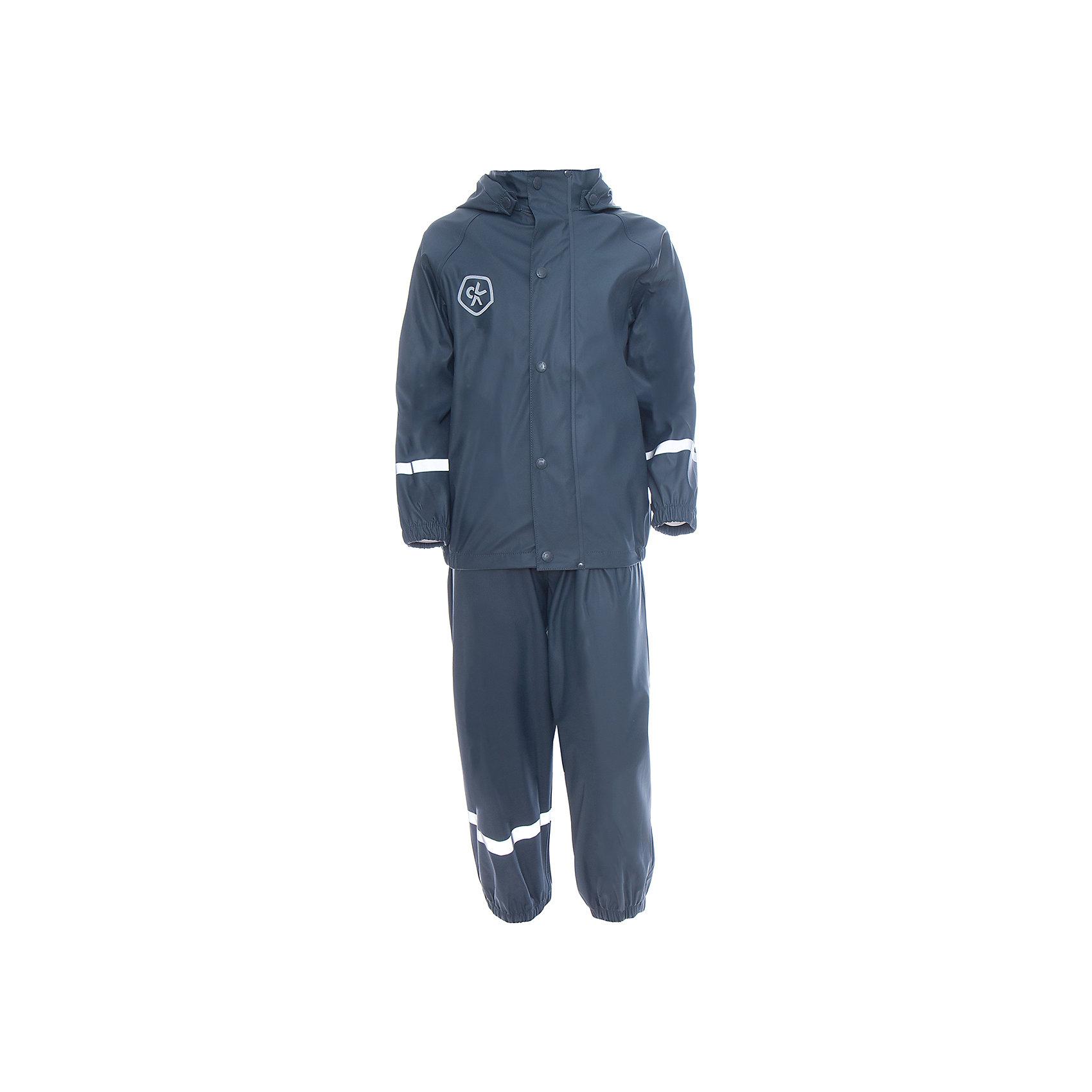 Непромокаемый комплект для девочки Color KidsВерхняя одежда<br>Характеристики товара:<br><br>• цвет: серый<br>• сезон: демисезон<br>• состав: 100% полиэстер<br>• регулируемые подтяжки<br>• без утеплителя<br>• капюшон<br>• швы проклеены<br>• водонепроницаемый <br>• ветрозащитный<br>• светоотражающие детали<br>• эластичные манжеты<br>• штрипки<br>• температурный режим: +10 до +20<br>• страна производства: Китай<br>• страна бренда: Дания<br><br>Такой удобный комплект сделан из непромокаемого легкого материала, поэтому отлично подойдет для дождливой погоды в межсезонье. <br><br>Он комфортно сидит и обеспечивает ребенку необходимое удобство и тепло. <br><br>Одежду от датского бренда Color Kids уже успели оценить многие потребители по всему миру! <br><br>Комплект для девочки от датского бренда Color Kids (Колор кидз) можно купить в нашем интернет-магазине.<br><br>Ширина мм: 356<br>Глубина мм: 10<br>Высота мм: 245<br>Вес г: 519<br>Цвет: серый<br>Возраст от месяцев: 48<br>Возраст до месяцев: 60<br>Пол: Унисекс<br>Возраст: Детский<br>Размер: 110,128,116,122<br>SKU: 5557313