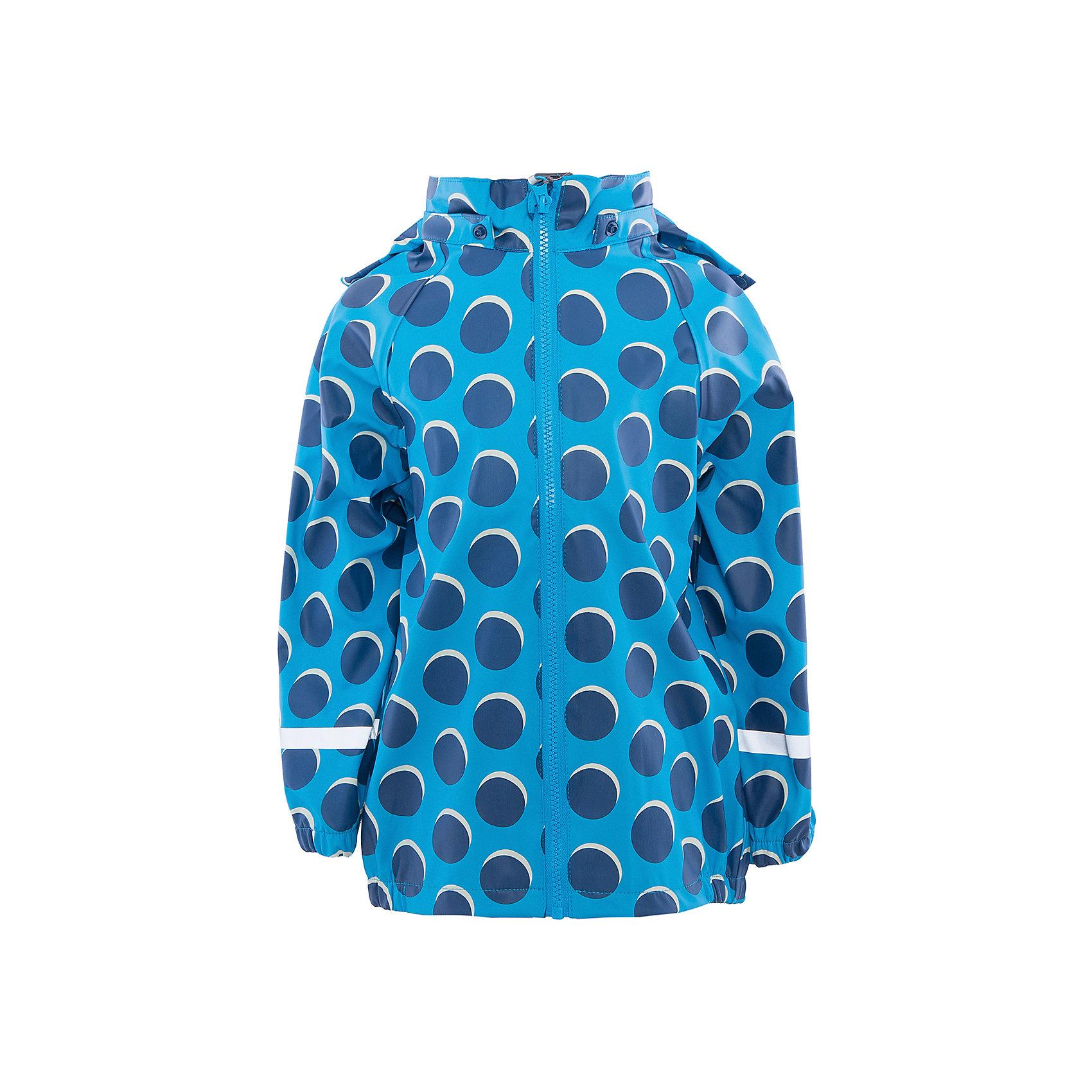 Куртка непромокаемая для девочки Color KidsВерхняя одежда<br>Характеристики товара:<br><br>• цвет: голубой<br>• состав: 50 % полиэстер, 50% полиуретан<br>• без утеплителя<br>• эластичные манжеты<br>• водоотталкивающая <br>• ветрозащитная <br>• светоотражающие детали<br>• застежка: молния<br>• капюшон отстегивается<br>• защита подбородка<br>• температурный режим: +10 до +20<br>• страна производства: Китай<br>• страна бренда: Дания<br><br>Эта симпатичная и удобная куртка сделана из непромокаемого легкого материала, поэтому отлично подойдет для дождливой погоды в весенне-летний сезон. <br><br>Она комфортно сидит и обеспечивает ребенку необходимое удобство. Очень стильно смотрится. Отличный вариант качественной одежды от проверенного производителя!<br><br>Куртку для девочки от датского бренда Color Kids (Колор кидз) можно купить в нашем интернет-магазине.<br><br>Ширина мм: 356<br>Глубина мм: 10<br>Высота мм: 245<br>Вес г: 519<br>Цвет: голубой<br>Возраст от месяцев: 24<br>Возраст до месяцев: 36<br>Пол: Женский<br>Возраст: Детский<br>Размер: 98,104,110,116,122,128<br>SKU: 5557318