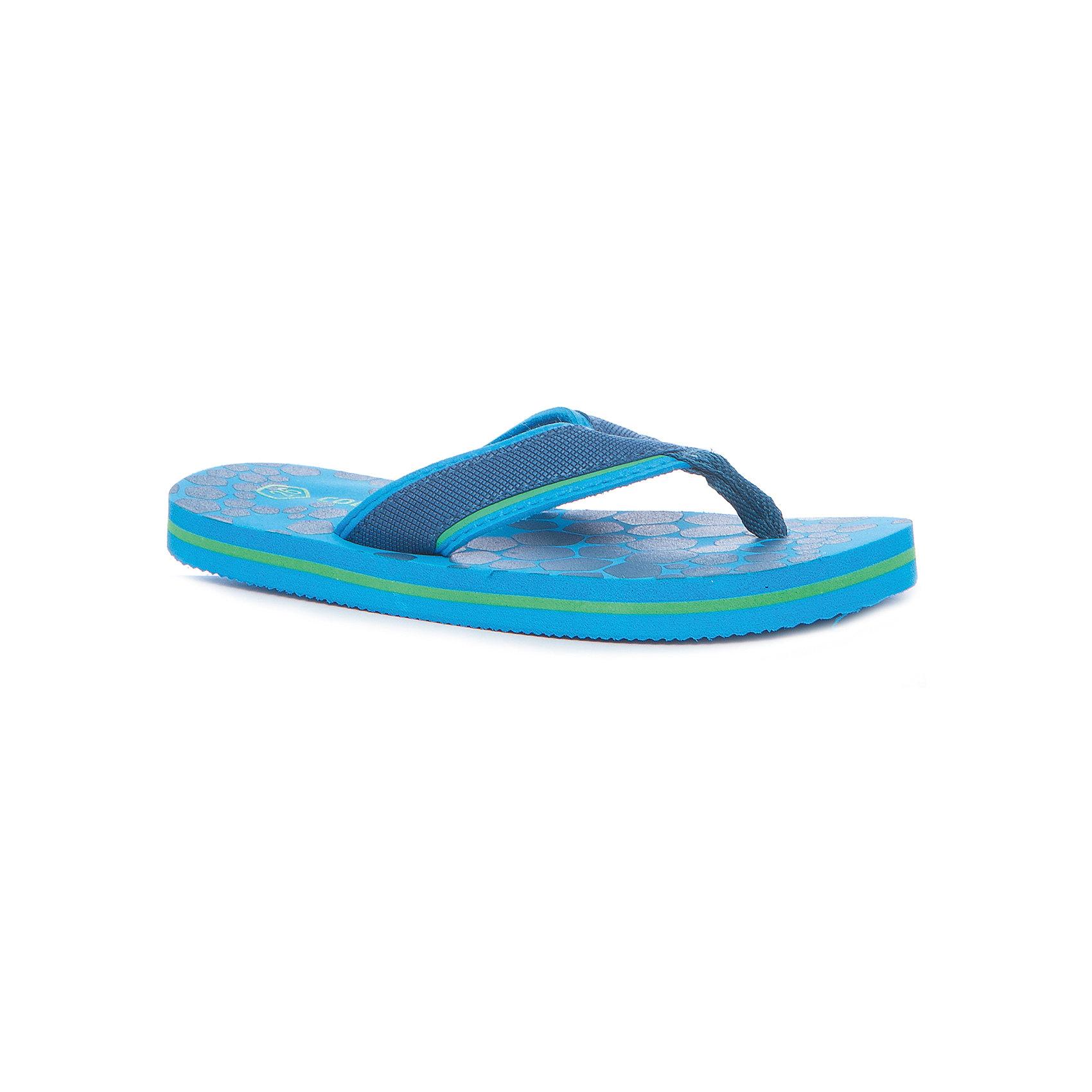Шлепанцы для мальчика Color KidsПляжная обувь<br>Характеристики товара:<br><br>• цвет: голубой<br>• состав: текстиль<br>• застежка: нет<br>• яркие элементы<br>• подошва: EVA<br>• страна производства: Китай<br>• страна бренда: Дания<br><br>Шлепанцы Колор Кидс сделаны из прочного и легкого материала, поэтому отлично подойдут для пляжного отдыха. <br><br>Они комфортно сидят и обеспечивает ребенку необходимое удобство.<br><br>Шлепанцы от датского бренда Color Kids (Колор кидз) можно купить в нашем интернет-магазине.<br><br>Ширина мм: 225<br>Глубина мм: 139<br>Высота мм: 112<br>Вес г: 290<br>Цвет: голубой<br>Возраст от месяцев: 120<br>Возраст до месяцев: 132<br>Пол: Унисекс<br>Возраст: Детский<br>Размер: 34,26,28,30,32<br>SKU: 5557385