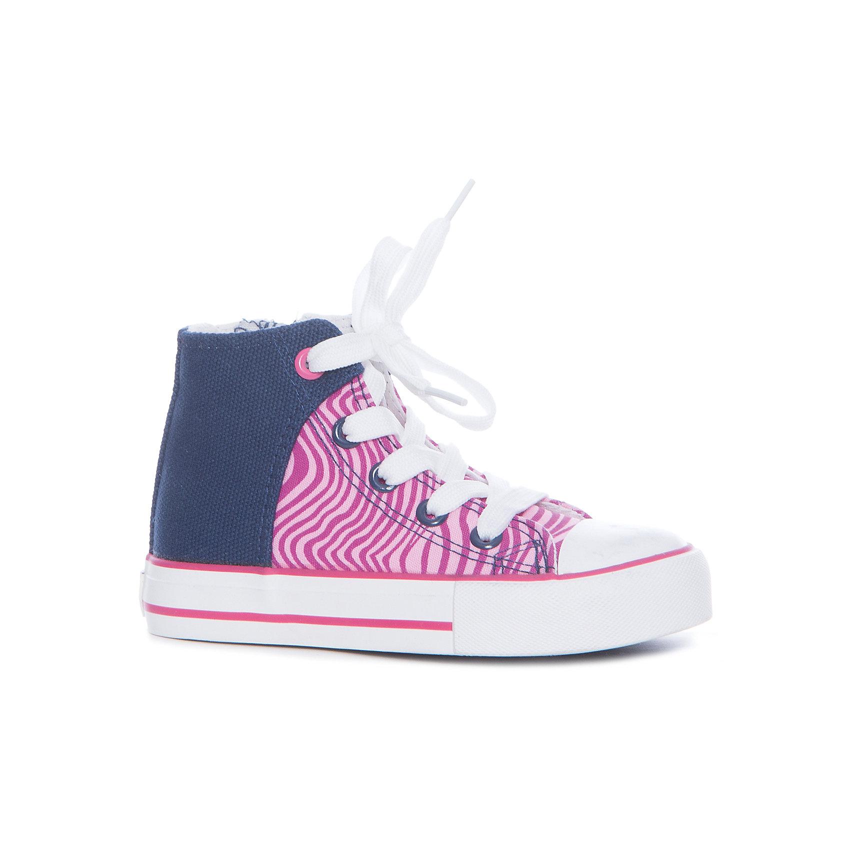 Кеды для девочки Color KidsКеды<br>Характеристики товара:<br><br>• цвет: розовый<br>• сезон: демисезон<br>• температурный режим: +10 до +20<br>• состав: текстиль<br>• подошва: резина<br>• застежка: шнурки, молния<br>• высокие <br>• защита носка<br>• страна производства: Китай<br>• страна бренда: Дания<br><br>Эти стильные и удобные кеды сделаны из прочного и легкого материала, поэтому отлично подойдут для теплой погоды в весенне-летний сезон.<br><br>Они комфортно сидят и обеспечивает ребенку необходимое удобство. <br><br>Очень стильно смотрятся. Отличный вариант качественной обуви от проверенного производителя!<br><br>Кеды для девочки от датского бренда Color Kids (Колор кидз) можно купить в нашем интернет-магазине.<br><br>Ширина мм: 250<br>Глубина мм: 150<br>Высота мм: 150<br>Вес г: 250<br>Цвет: розовый<br>Возраст от месяцев: 132<br>Возраст до месяцев: 144<br>Пол: Женский<br>Возраст: Детский<br>Размер: 35,26,27,28,29,30,31,32,33,34<br>SKU: 5557426