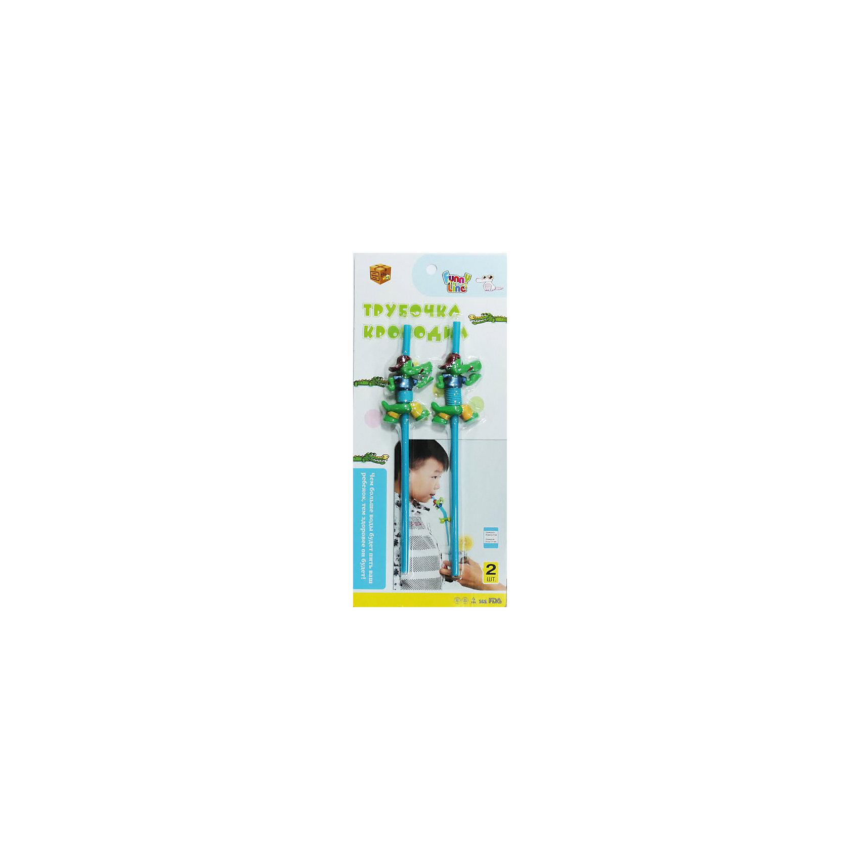 Трубочка Крокодил, 2шт., Funny LineВсё для праздника<br>Характеристики:<br><br>• Предназначение: для напитков<br>• Материал: пластик<br>• Комплектация: 2 трубочки<br>• Размеры упаковки (Д*Ш*В): 2*15,5*34 см<br>• Вес в упаковке: 76 г<br>• Упаковка: блистер на картонной подложке<br><br>Трубочка для напитков изготовлена из мягкого, экологически безопасного пластика, не имеет запаха. Выполнена в оригинальной форме: на трубочке имеется фигурка крокодила, туловище которого вытягивается при расправлении изделия. Такие трубочки станут стильными аксессуарами для детского праздника или тематической вечеринки!<br><br>Трубочку Крокодил, 2шт., Funny Line можно купить в нашем интернет-магазине.<br><br>Ширина мм: 20<br>Глубина мм: 155<br>Высота мм: 340<br>Вес г: 76<br>Возраст от месяцев: 36<br>Возраст до месяцев: 2147483647<br>Пол: Унисекс<br>Возраст: Детский<br>SKU: 5557468