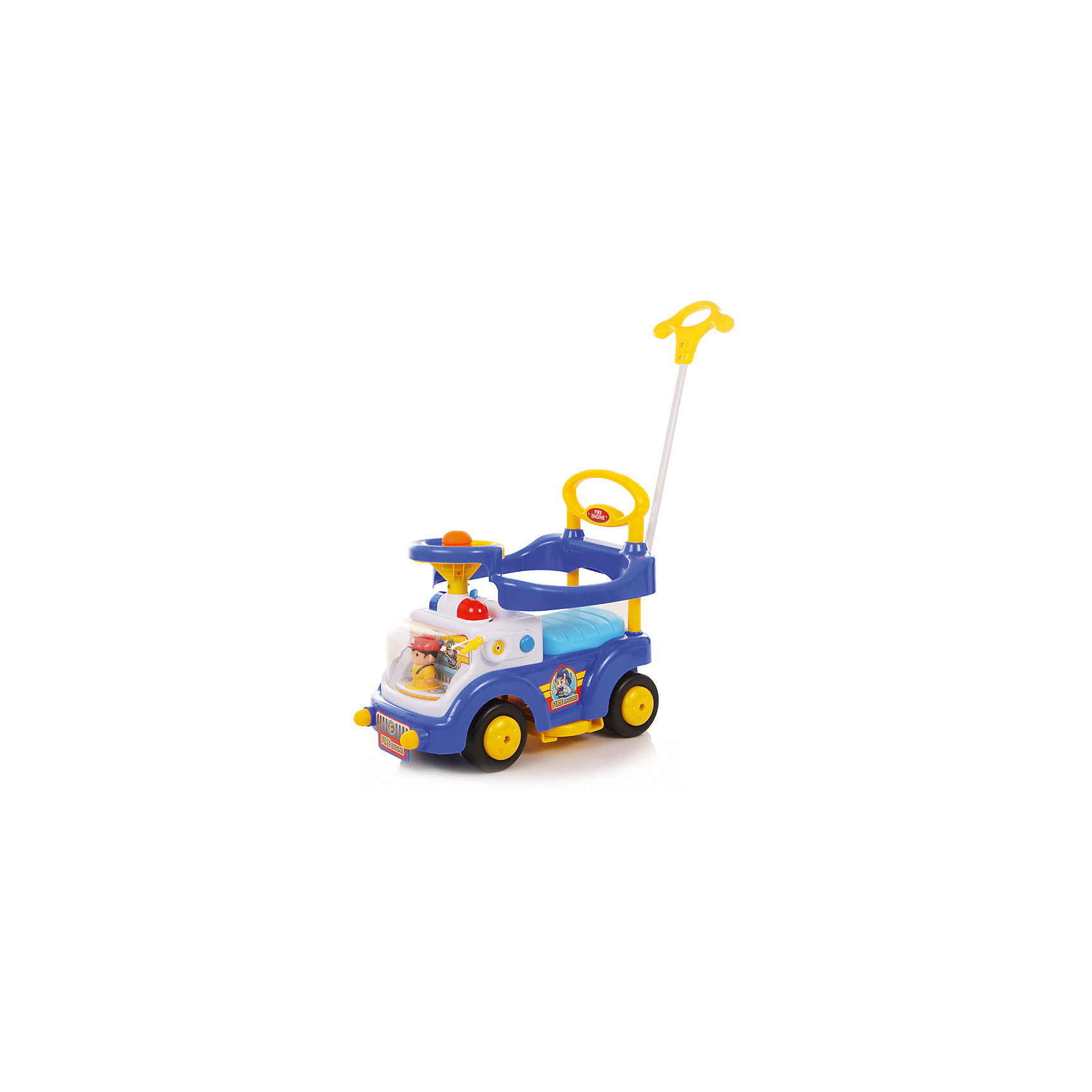 Каталка детская Fire Engine, синяя, Baby CareМашинки-каталки<br><br><br>Ширина мм: 670<br>Глубина мм: 390<br>Высота мм: 330<br>Вес г: 5400<br>Возраст от месяцев: 12<br>Возраст до месяцев: 36<br>Пол: Унисекс<br>Возраст: Детский<br>SKU: 5558852