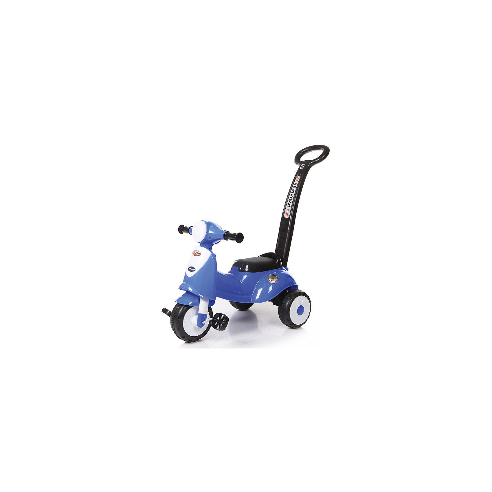 Каталка детская Smart Trike, синяя, Baby CareИгрушки для малышей<br><br><br>Ширина мм: 620<br>Глубина мм: 320<br>Высота мм: 260<br>Вес г: 3400<br>Возраст от месяцев: 12<br>Возраст до месяцев: 36<br>Пол: Унисекс<br>Возраст: Детский<br>SKU: 5558853
