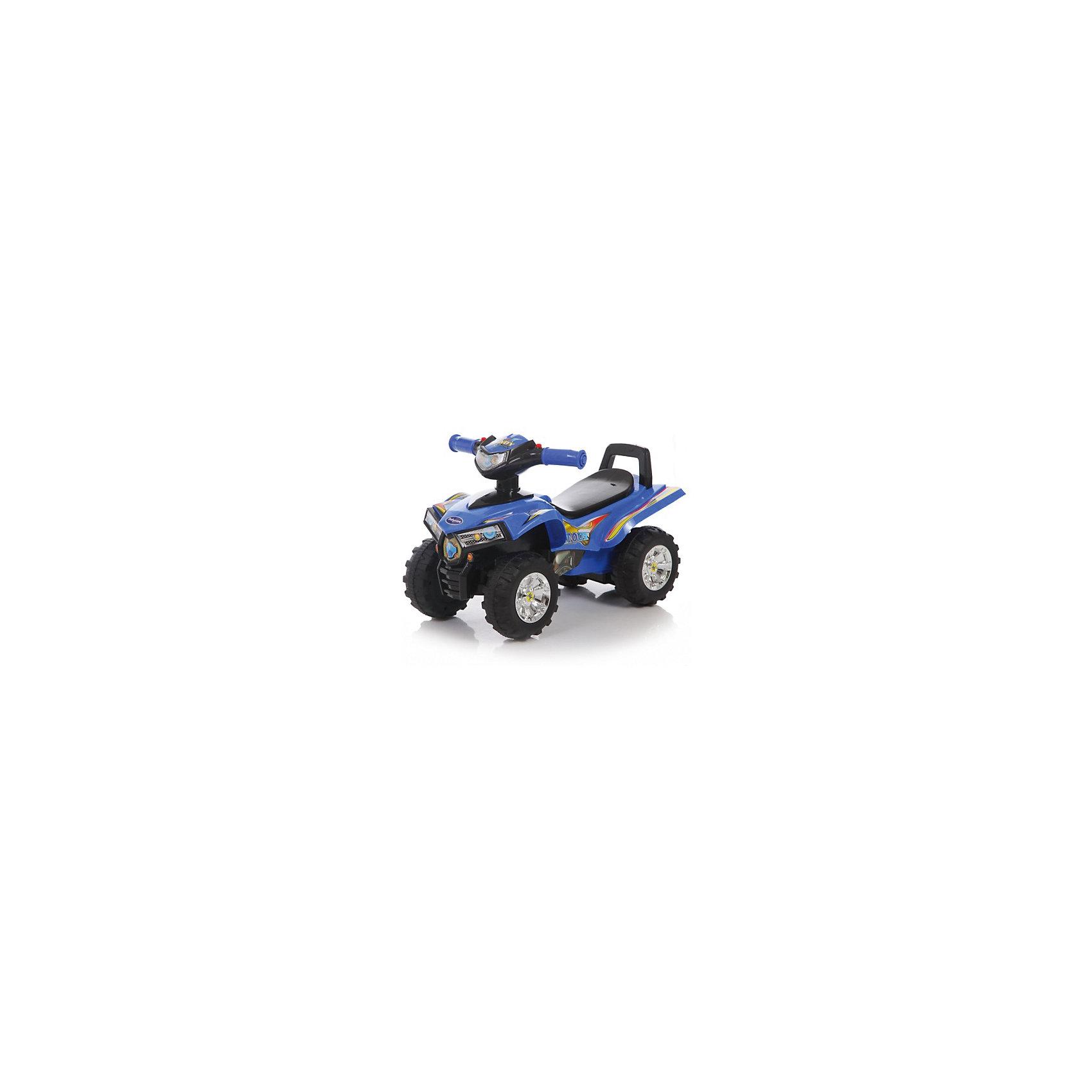 Каталка детская Super ATV, синяя, Baby CareМашинки-каталки<br><br><br>Ширина мм: 600<br>Глубина мм: 260<br>Высота мм: 300<br>Вес г: 3100<br>Возраст от месяцев: 12<br>Возраст до месяцев: 36<br>Пол: Унисекс<br>Возраст: Детский<br>SKU: 5558856