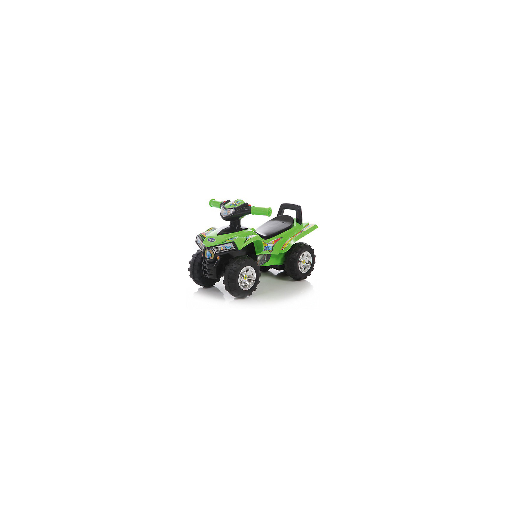 Каталка детская Super ATV, зеленая, Baby Care