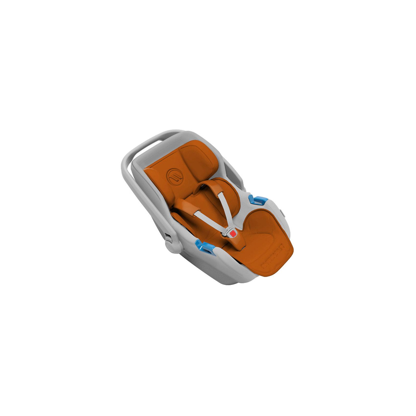 Автокресло Avionaut Jet, 0-13кг, коричневый/серыйГруппа 0+ (До 13 кг)<br>Характеристики автокресла:<br><br>• группа: 0-0+;<br>• вес ребенка: до 13 кг;<br>• способ крепления: штатные ремни безопасности;<br>• способ установки: против хода движения автомобиля;<br>• 3-х точечные ремни безопасности, регулируемые по длине и высоте;<br>• высота подголовника регулируется;<br>• ручка для переноски автокресла;<br>• тент от солнечных лучей, можно снять и спрятать в кармашек на молнии;<br>• хлопковая обивка, снимается и стирается при температуре 30 градусов;<br>• имеется подушечка для малыша;<br>• полистиреновые вкладыши;<br>• имеется встроенный адаптер для установки автокресла на шасси коляски.<br><br>Размер автокресла: 71х65х81 см<br>Вес автокресла: 3 кг<br>Размер упаковки: 70х44х37 см<br>Вес в упаковке: 3,5 кг<br><br>Автокресло Jet, 0-13кг., Avionaut, коричневый/серый можно купить в нашем интернет-магазине.<br><br>Ширина мм: 710<br>Глубина мм: 650<br>Высота мм: 810<br>Вес г: 3500<br>Возраст от месяцев: 0<br>Возраст до месяцев: 12<br>Пол: Унисекс<br>Возраст: Детский<br>SKU: 5559159