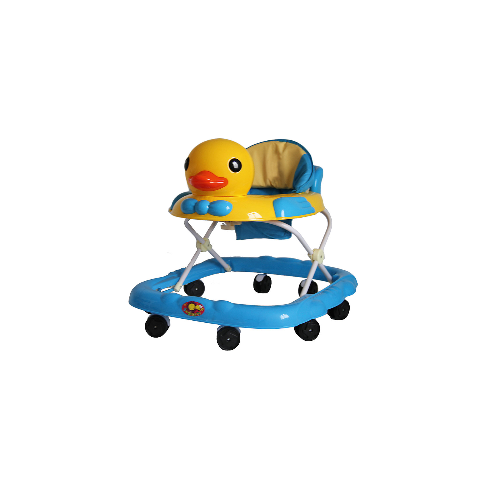 Ходунки Утка, Shine Ring, голубойХодунки<br>Характеристики товара:<br><br>• цвет: голубой<br>• возраст: от 6 мес.<br>• 8 поворотных колес<br>• съемная игровая панель<br>• музыкальное сопровождение<br>• мягкое сиденье<br>• 3 положения высоты<br>• 2 батарейки типа (AA) (в комплект не входит)<br>• размеры: 71x63x55см<br>• вес: 3,4кг<br>• страна производства: Китай<br><br>Ходунки Shine Ring - это отличное приобретение, которое поможет вашему малышу сделать свои первые шаги. <br><br>Большое количество поворотных колес прекрасно распределят вес малыша. <br><br>Широкое основание придает отличную устойчивость, что обезопасит вашего ребенка. <br><br>Съемная игровая панель сможет развить мелкую моторику. <br><br>Приятное мягкое сидение прочно крепится к раме и не будет доставлять дискомфорт во время использования.<br><br>Ходунки Утка, Shine Ring можно купить в нашем интернет-магазине.<br><br>Ширина мм: 670<br>Глубина мм: 600<br>Высота мм: 510<br>Вес г: 3710<br>Возраст от месяцев: 6<br>Возраст до месяцев: 12<br>Пол: Унисекс<br>Возраст: Детский<br>SKU: 5559207