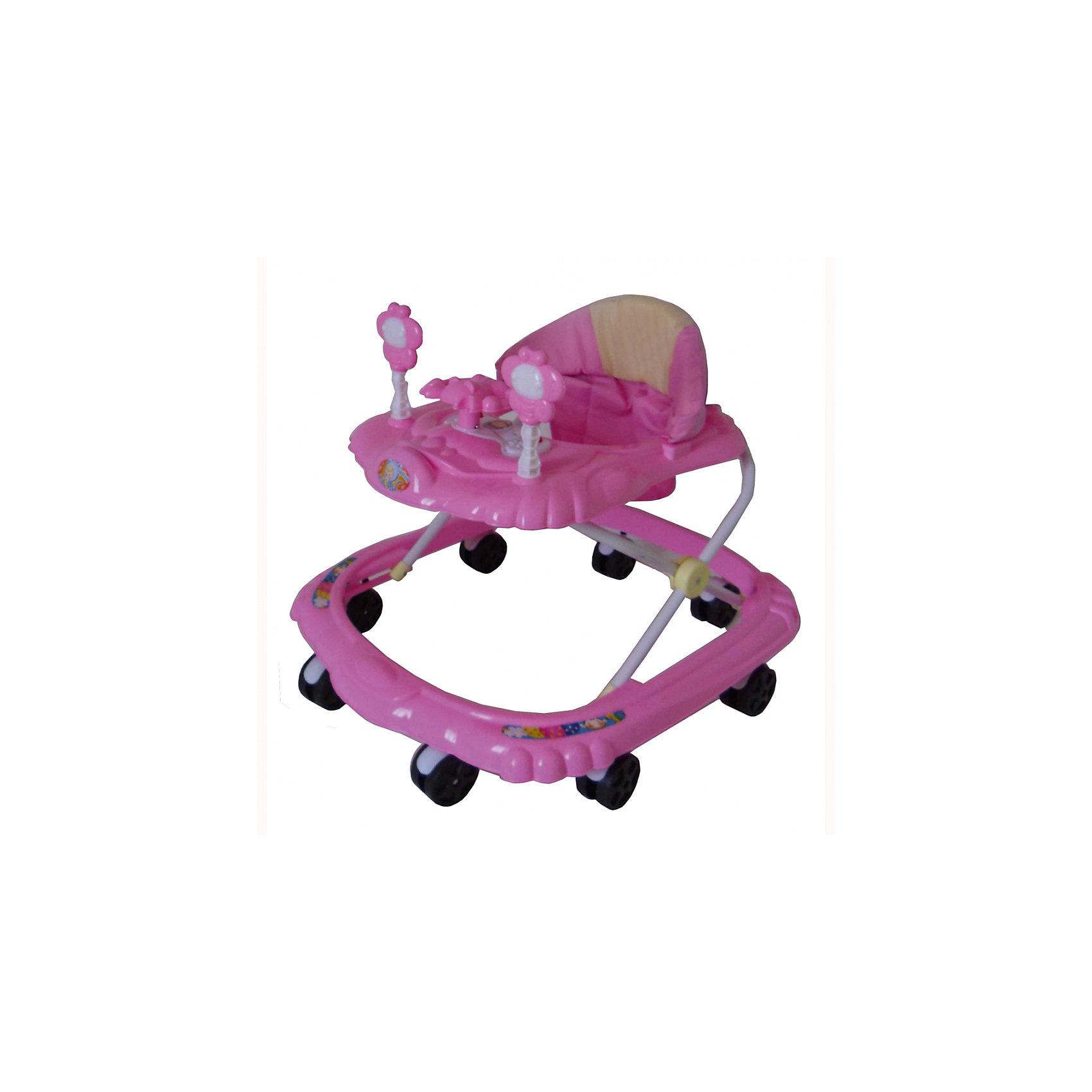 Ходунки Цветочки, Shine Ring, розовыйХодунки<br>SHINE RING  Ходунки (8 колес,игрушки,муз) 6 шт в кор.(66*56*47), PINK/ Розовый<br><br>Ширина мм: 670<br>Глубина мм: 600<br>Высота мм: 520<br>Вес г: 2600<br>Возраст от месяцев: 6<br>Возраст до месяцев: 12<br>Пол: Унисекс<br>Возраст: Детский<br>SKU: 5559224
