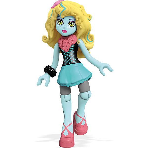 Мини-кукла Mega Bloks Monster High Лагуна Блю, 12,5 смПопулярные игрушки<br><br><br>Ширина мм: 125<br>Глубина мм: 85<br>Высота мм: 25<br>Вес г: 17<br>Возраст от месяцев: 72<br>Возраст до месяцев: 144<br>Пол: Женский<br>Возраст: Детский<br>SKU: 5559840