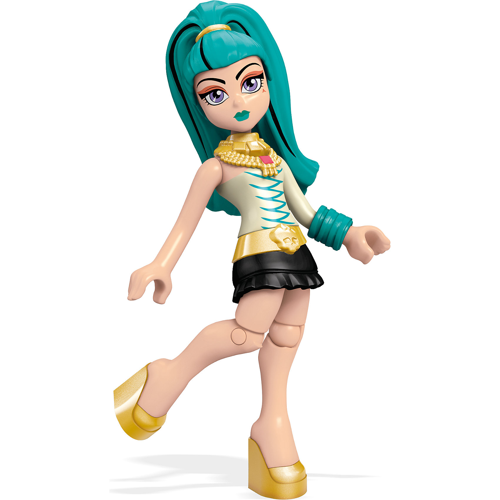 Мини-кукла Mega Bloks Monster High Нефера де Нил, 12,5 смМини-куклы<br><br><br>Ширина мм: 125<br>Глубина мм: 85<br>Высота мм: 25<br>Вес г: 17<br>Возраст от месяцев: 72<br>Возраст до месяцев: 144<br>Пол: Женский<br>Возраст: Детский<br>SKU: 5559845