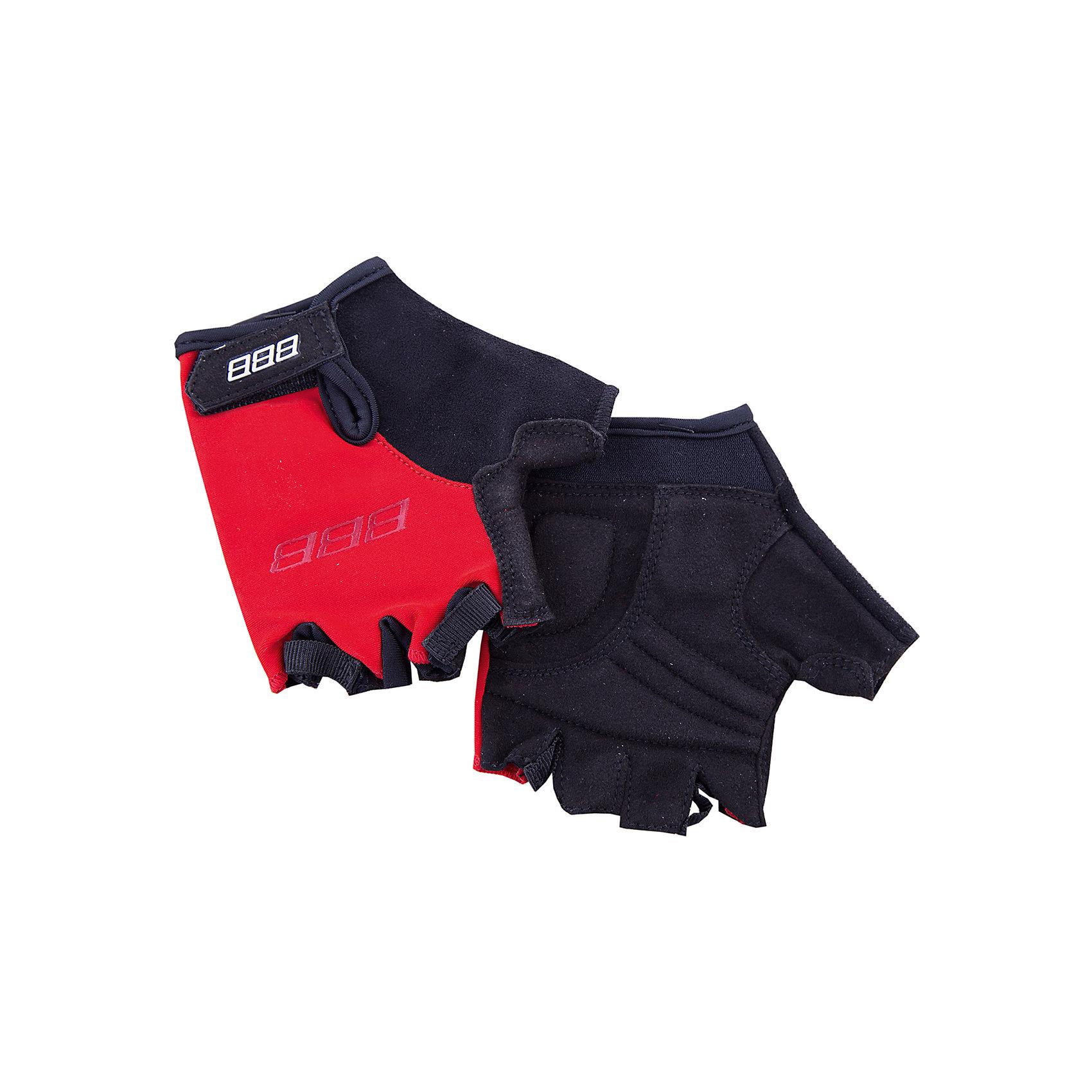 Перчатки велосипедные, BBBАксеcсуары для велосипедов<br>Характеристики товара:<br><br>• возраст от 3 лет;<br>• материал: лайкра, спандекс;<br>• размер упаковки 23х12х3 см;<br>• вес упаковки 90 гр.;<br>• страна производитель: Пакистан.<br><br>Перчатки велосипедные ВВВ красные разработаны специально для детских рук. Во время езды на велосипеде они защищают руки от повреждения, а также препятствуют соскальзыванию ладоней с руля. Верхняя часть перчаток выполнена из дышащей лайкры. Ладони сделаны из износостойкого материала Amara с подкладкой из вспененного материала. 2 петли между пальцами облегчают снятие перчаток. Застежки системы Wristlock надежно фиксируют перчатки на руках во время движения.<br><br>Перчатки велосипедные ВВВ красные можно приобрести в нашем интернет-магазине.<br><br>Ширина мм: 230<br>Глубина мм: 120<br>Высота мм: 30<br>Вес г: 90<br>Цвет: красный<br>Возраст от месяцев: 120<br>Возраст до месяцев: 144<br>Пол: Унисекс<br>Возраст: Детский<br>Размер: 6,3,4,5<br>SKU: 5565986