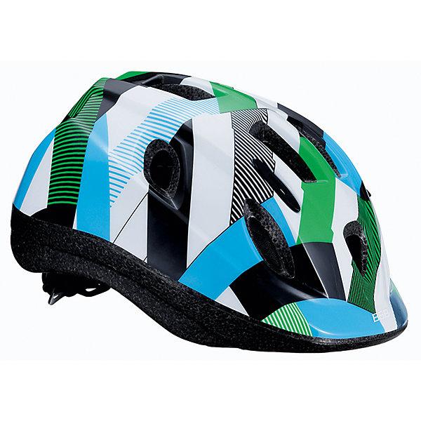 Летний шлем Boogy камуфляж зеленый, BBBЗащита, шлемы<br>Характеристики товара:<br><br>• возраст от 3 лет;<br>• материал: ударопрочный пластик;<br>• 12 вентиляционных отверстий<br>• светоотражающие элементы сзади<br>• размер упаковки 27х24х18 см;<br>• вес упаковки 500 гр.;<br>• страна производитель: Китай.<br><br>Летний шлем Boogy Камуфляж зеленый ВВВ надежно защитит голову во время падения при езде на велосипеде. Ремешки шлема настраиваются индивидуально для комфортной посадки. 12 вентиляционных отверстий на корпусе обеспечивают хороший воздухообмен. Сетка в вентиляционных отверстиях защищает от насекомых. Мягкие накладки обладают антибактериальными свойствами, а также по мере необходимости снимаются для стирки. На задней части шлема расположены светоотражающие элементы для видимости в темное время суток. Шлем выполнен из ударопрочного материала.<br><br>Летний шлем Boogy Камуфляж зеленый ВВВ можно приобрести в нашем интернет-магазине.<br>Ширина мм: 270; Глубина мм: 240; Высота мм: 180; Вес г: 500; Цвет: зеленый; Возраст от месяцев: 96; Возраст до месяцев: 144; Пол: Унисекс; Возраст: Детский; Размер: 52-56,48-54; SKU: 5566008;