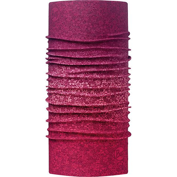 Бандана BUFFГоловные уборы<br>Бандана BUFF <br>Бесшовная бандана-труба из специальной серии Original BUFF. Original BUFF - самый популярный универсальный головной убор из всех серий. <br><br>Сделан из микрофибры - защищает от ветра, пыли, влаги и ультрафиолета. Контролирует микроклимат в холодную и теплую погоду, отводит влагу. Ткань обработана ионами серебра, обеспечивающими длительный антибактериальный эффект и предотвращающими появление запаха. Допускается машинная и ручная стирка при 30-40градусах. Материал не теряет цвет и эластичность, не требует глажки. <br><br>Original BUFF можно носить на шее и на голове, как шейный платок, маску, бандану, шапку и подшлемник. <br><br>Свойства материала позволяют использовать бандану Original BUFF в любое время года, при занятиях любым видом спорта, активного отдыха, туризма или рыбалки.<br>Состав:<br>Полиэстер 100%<br><br>Ширина мм: 89<br>Глубина мм: 117<br>Высота мм: 44<br>Вес г: 155<br>Цвет: лиловый<br>Возраст от месяцев: 84<br>Возраст до месяцев: 1188<br>Пол: Унисекс<br>Возраст: Детский<br>Размер: one size<br>SKU: 5568689