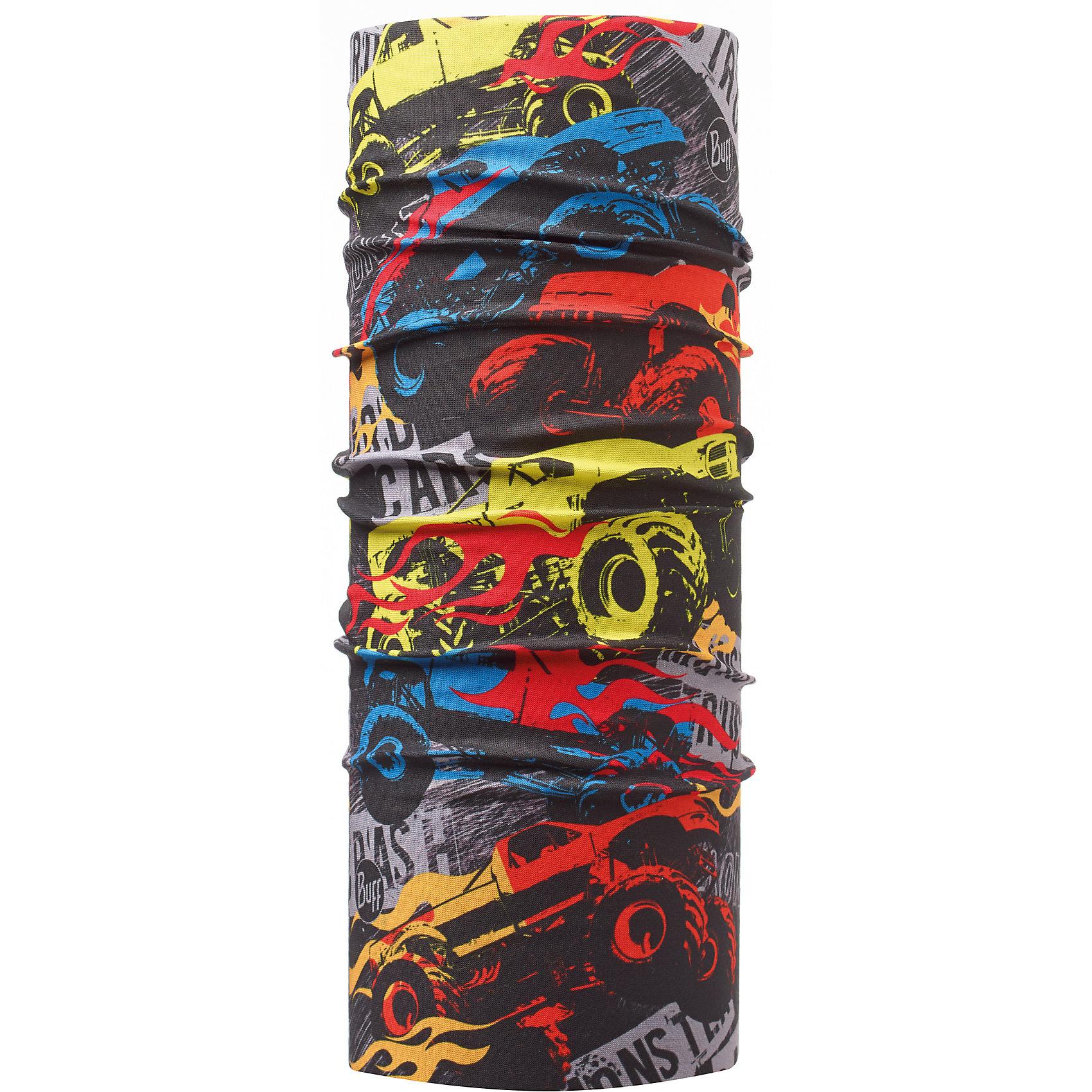 Бандана BUFFГоловные уборы<br>Бандана BUFF <br>Бесшовная бандана-труба из специальной серии Original BUFF. Original BUFF - самый популярный универсальный головной убор из всех серий. <br><br>Сделан из микрофибры - защищает от ветра, пыли, влаги и ультрафиолета. Контролирует микроклимат в холодную и теплую погоду, отводит влагу. Ткань обработана ионами серебра, обеспечивающими длительный антибактериальный эффект и предотвращающими появление запаха. Допускается машинная и ручная стирка при 30-40градусах. Материал не теряет цвет и эластичность, не требует глажки. <br><br>Original BUFF можно носить на шее и на голове, как шейный платок, маску, бандану, шапку и подшлемник. <br><br>Свойства материала позволяют использовать бандану Original BUFF в любое время года, при занятиях любым видом спорта, активного отдыха, туризма или рыбалки.<br>Состав:<br>Полиэстер 100%<br><br>Ширина мм: 89<br>Глубина мм: 117<br>Высота мм: 44<br>Вес г: 155<br>Цвет: красный<br>Возраст от месяцев: 84<br>Возраст до месяцев: 1188<br>Пол: Унисекс<br>Возраст: Детский<br>Размер: one size<br>SKU: 5568735