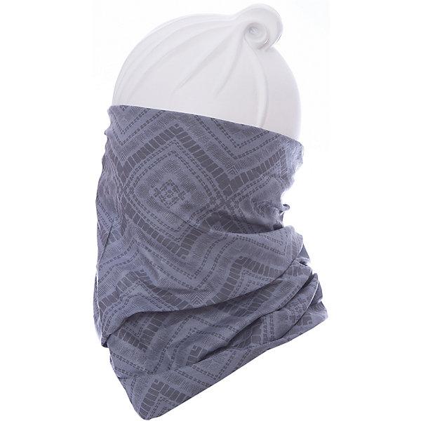 Бандана BUFFГоловные уборы<br>Бандана BUFF <br>Бесшовная бандана-труба из специальной серии Original BUFF. Original BUFF - самый популярный универсальный головной убор из всех серий. <br><br>Сделан из микрофибры - защищает от ветра, пыли, влаги и ультрафиолета. Контролирует микроклимат в холодную и теплую погоду, отводит влагу. Ткань обработана ионами серебра, обеспечивающими длительный антибактериальный эффект и предотвращающими появление запаха. Допускается машинная и ручная стирка при 30-40градусах. Материал не теряет цвет и эластичность, не требует глажки. <br><br>Original BUFF можно носить на шее и на голове, как шейный платок, маску, бандану, шапку и подшлемник. <br><br>Свойства материала позволяют использовать бандану Original BUFF в любое время года, при занятиях любым видом спорта, активного отдыха, туризма или рыбалки.<br>Состав:<br>Полиэстер 100%<br><br>Ширина мм: 89<br>Глубина мм: 117<br>Высота мм: 44<br>Вес г: 155<br>Цвет: серый<br>Возраст от месяцев: 84<br>Возраст до месяцев: 1188<br>Пол: Унисекс<br>Возраст: Детский<br>Размер: one size<br>SKU: 5568785