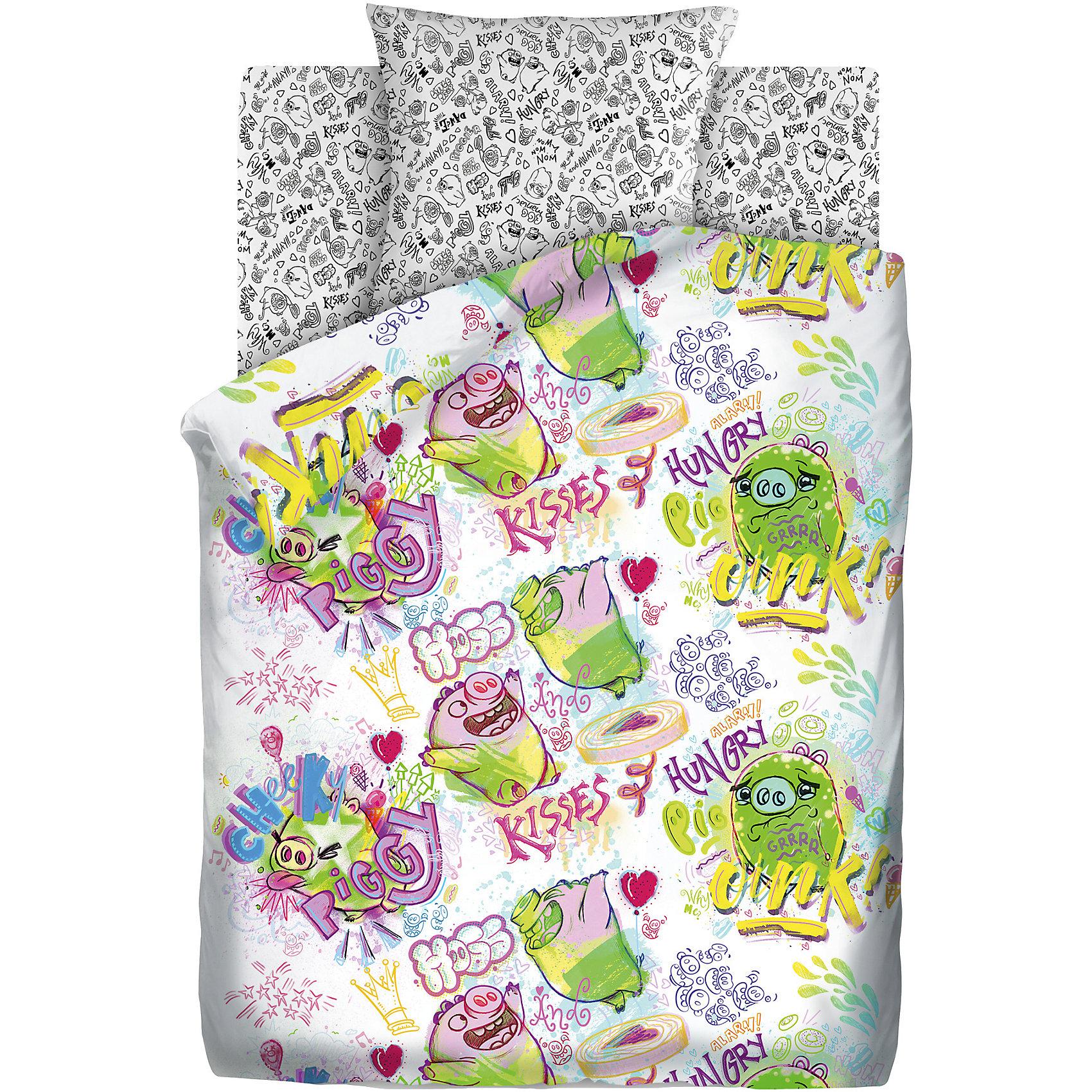 Постельное белье 1,5 Плохие свинки, бязь, Angry Birds (70*70)Домашний текстиль<br>Постельное белье 1,5 Плохие свинки, бязь, Angry Birds  (Энгри Бёрдс) (70*70)<br><br>Характеристики:<br><br>• пропускает воздух<br>• выводит лишнюю влагу<br>• обеспечивает комфортный сон<br>• красочный дизайн<br>• материал: бязь<br>• состав: 100% хлопок<br>• в комплекте: наволочка, простынь, пододеяльник<br>• размер наволочки: 70х70 см<br>• размер простыни: 214х150 см<br>• размер пододеяльника: 215х143 см<br>• вес: 1200 грамм<br><br>Любители Angry Birds будут в восторге от комплекта постельного белья Плохие свинки! Комплект оформлен красочным изображением известных свинок, которые непременно подарят ребенку приятные сны. Белье выполнено из хлопка, сохраняющего свои качества и цвет после стирок. Белье хорошо пропускает воздух, отводит лишнюю влагу, обеспечивая ребенку комфортный сон.<br><br>Постельное белье 1,5 Плохие свинки, бязь, Angry Birds (Энгри Бёрдс) (70*70) можно купить в нашем интернет-магазине.<br><br>Ширина мм: 500<br>Глубина мм: 250<br>Высота мм: 500<br>Вес г: 1200<br>Возраст от месяцев: 36<br>Возраст до месяцев: 216<br>Пол: Мужской<br>Возраст: Детский<br>SKU: 5569310