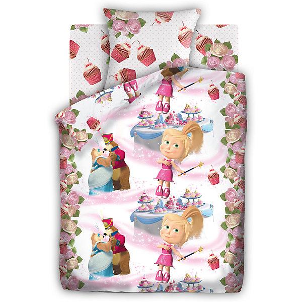 Детское постельное белье 1,5 сп. Непоседа, Маша и Медведь ПраздникМаша и Медведь<br>Постельное белье 1,5 Праздник, бязь, Маша и Медведь (нав 70*70)<br><br>Характеристики:<br><br>• пропускает воздух<br>• выводит лишнюю влагу<br>• обеспечивает комфортный сон<br>• красочный дизайн<br>• материал: бязь<br>• состав: 100% хлопок<br>• в комплекте: наволочка, простынь, пододеяльник<br>• размер наволочки: 70х70 см<br>• размер простыни: 214х150 см<br>• размер пододеяльника: 215х143 см<br>• вес: 1200 грамм<br><br>Постельное белье Праздник изготовлено из бязи, отвечающей всем требованиям качества. Белье хорошо пропускает воздух и быстро впитывает влагу, обеспечивая ребенку комфорт во время сна. Комплект оформлен красочным рисунком с изображение героев мультфильма Маша и  медведь. Качественное белье - залог комфортного отдыха малыша.<br><br>Постельное белье 1,5 Праздник, бязь, Маша и Медведь (нав 70*70) вы можете купить в нашем интернет-магазине.<br><br>Ширина мм: 500<br>Глубина мм: 250<br>Высота мм: 500<br>Вес г: 1200<br>Возраст от месяцев: 36<br>Возраст до месяцев: 216<br>Пол: Женский<br>Возраст: Детский<br>SKU: 5569312