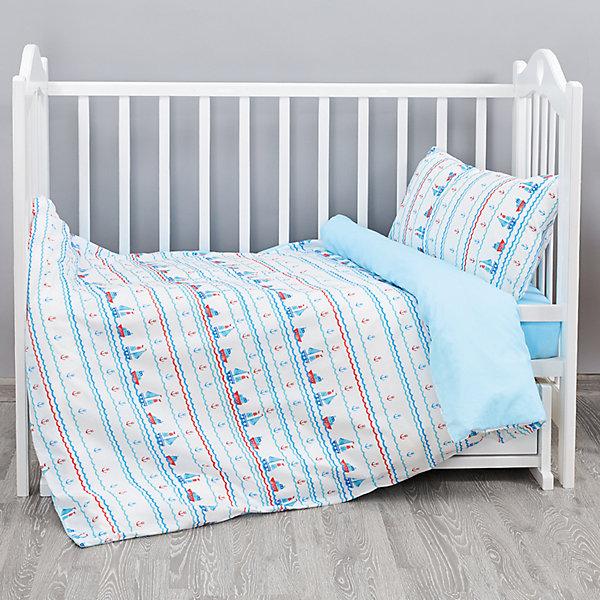 Постельное белье Кораблики 3 пред. бязь, на резинке, Непоседа, голубойПостельное белье в кроватку новорождённого<br>Постельное белье Кораблики 3 пред. бязь, на резинке, Непоседа, голубой<br><br>Характеристики:<br><br>• пропускает воздух<br>• выводит лишнюю влагу<br>• обеспечивает комфортный сон<br>• красочный дизайн<br>• простыня на резинке<br>• материал: бязь<br>• состав: 100% хлопок<br>• в комплекте: наволочка, простынь, пододеяльник<br>• размер наволочки: 40х60 см<br>• размер простыни: 110х150 см<br>• размер пододеяльника: 147х112 см<br>• вес: 600 грамм<br><br>Постельное белье Кораблики украсит детскую комнату и подарит малышу спокойный сон. Белье изготовлено из качественной бязи, приятной на ощупь. Бязь легко пропускает воздух и отводит лишнюю влагу, позволяя коже дышать. Комплект оформлен красивым изображением маленьких корабликов. Простыня фиксируется с помощью резинки, чтобы белье не соскальзывало во время сна.<br><br>Постельное белье Кораблики 3 пред. бязь, на резинке, Непоседа, голубой можно купить в нашем интернет-магазине.<br>Ширина мм: 500; Глубина мм: 250; Высота мм: 500; Вес г: 600; Возраст от месяцев: 36; Возраст до месяцев: 216; Пол: Мужской; Возраст: Детский; SKU: 5569317;