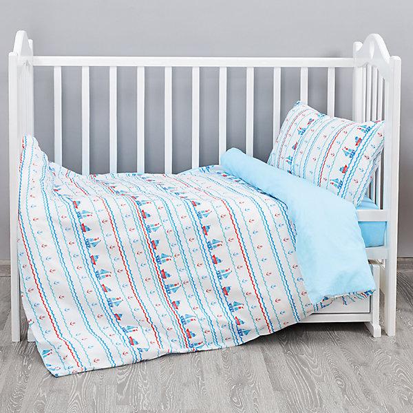 Постельное белье Кораблики 3 пред. бязь, Непоседа, голубойПостельное белье в кроватку новорождённого<br>Постельное белье Кораблики 3 пред. бязь, Непоседа, голубой<br><br>Характеристики:<br><br>• пропускает воздух<br>• выводит лишнюю влагу<br>• обеспечивает комфортный сон<br>• красочный дизайн<br>• материал: бязь<br>• состав: 100% хлопок<br>• в комплекте: наволочка, простынь, пододеяльник<br>• размер наволочки: 40х60 см<br>• размер простыни: 110х150 см<br>• размер пододеяльника: 147х112 см<br>• вес: 600 грамм<br><br>Постельное белье Кораблики украсит детскую комнату и подарит малышу спокойный сон. Белье изготовлено из качественной бязи, приятной на ощупь. Бязь легко пропускает воздух и отводит лишнюю влагу, позволяя коже дышать. Комплект оформлен красивым изображением маленьких корабликов. Красивое и качественное белье - залог здорового сна малыша.<br><br>Постельное белье Кораблики 3 пред. бязь, Непоседа, голубой можно купить в нашем интернет-магазине.<br><br>Ширина мм: 500<br>Глубина мм: 250<br>Высота мм: 500<br>Вес г: 600<br>Возраст от месяцев: 36<br>Возраст до месяцев: 216<br>Пол: Мужской<br>Возраст: Детский<br>SKU: 5569318