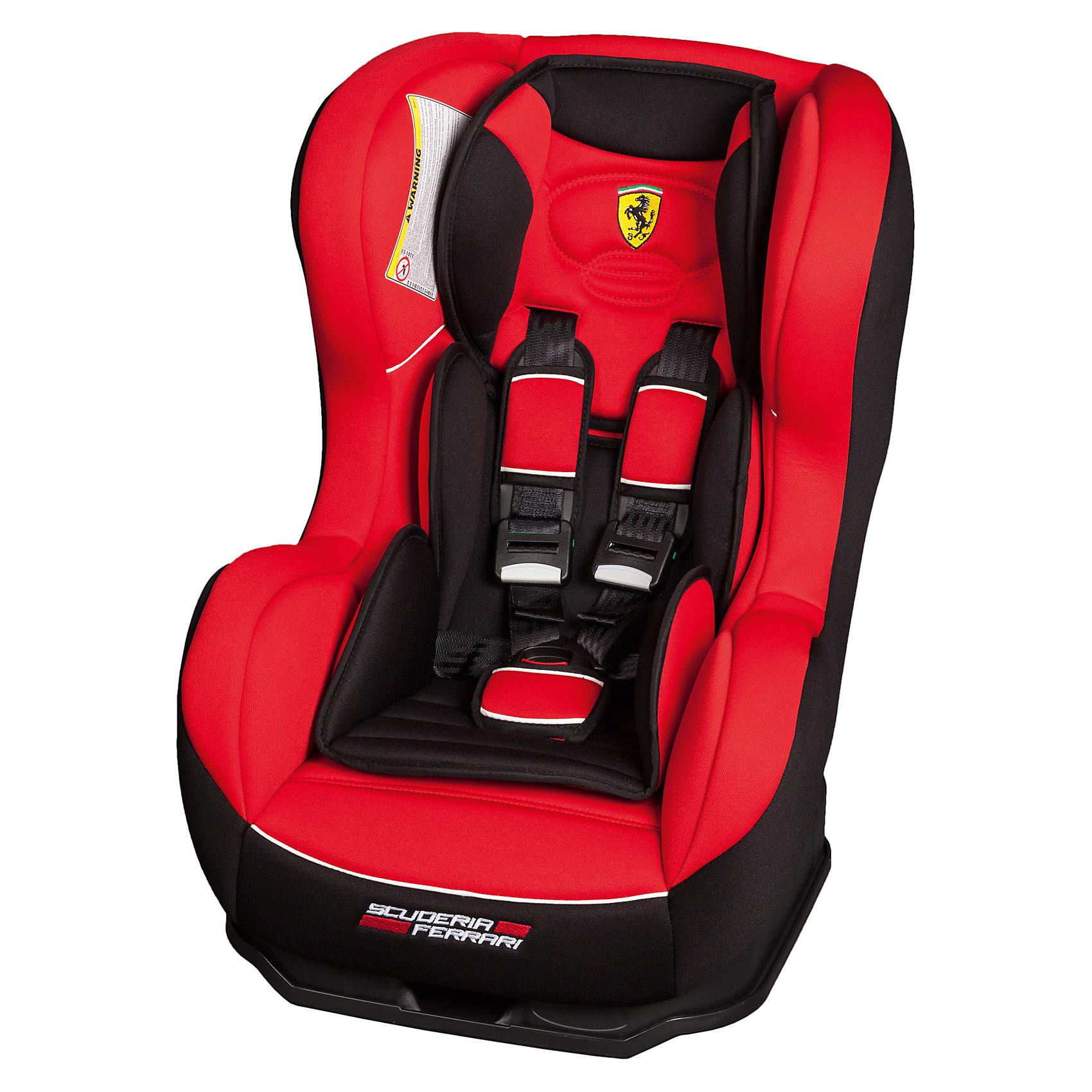 Автокресло Nania Cosmo SP ISOFIX, 0-18кг, corsa ferrariГруппа 0+, 1 (До 18 кг)<br>Характеристики:<br><br>• группа: 0/1;<br>• вес ребенка: до 18 кг;<br>• возраст ребенка: от рождения до 4-х лет;<br>• способ установки: до 9 кг – против хода движения, 9-18 кг – по ходу движения;<br>• способ крепления: Isofix;<br>• сиденье помещено на специальную платформу;<br>• наличие мягкого анатомического вкладыша с подголовником;<br>• регулируемый угол наклона спинки: 5 положений включая положение «полулежа»;<br>• 5-ти точечные ремни безопасности оснащены мягкими плечевыми накладками;<br>• усиленная боковая защита SP - Side Protection;<br>• съемные чехлы, стирка при температуре 30 градусов;<br>• материал: пластик, полиэстер;<br>• размеры автокресла: 54х45х61 см;<br>• размер сиденья: 31х31 см;<br>• высота спинки: 55 см;<br>• вес автокресла: 5,7 кг;<br>• стандарт безопасности: ECE R44/04.<br><br>Автокресло Cosmo SP ISOFIX, 0-18кг, Nania, corsa ferrari можно купить в нашем интернет-магазине.<br><br>Ширина мм: 440<br>Глубина мм: 540<br>Высота мм: 640<br>Вес г: 9380<br>Возраст от месяцев: 0<br>Возраст до месяцев: 48<br>Пол: Унисекс<br>Возраст: Детский<br>SKU: 5569325