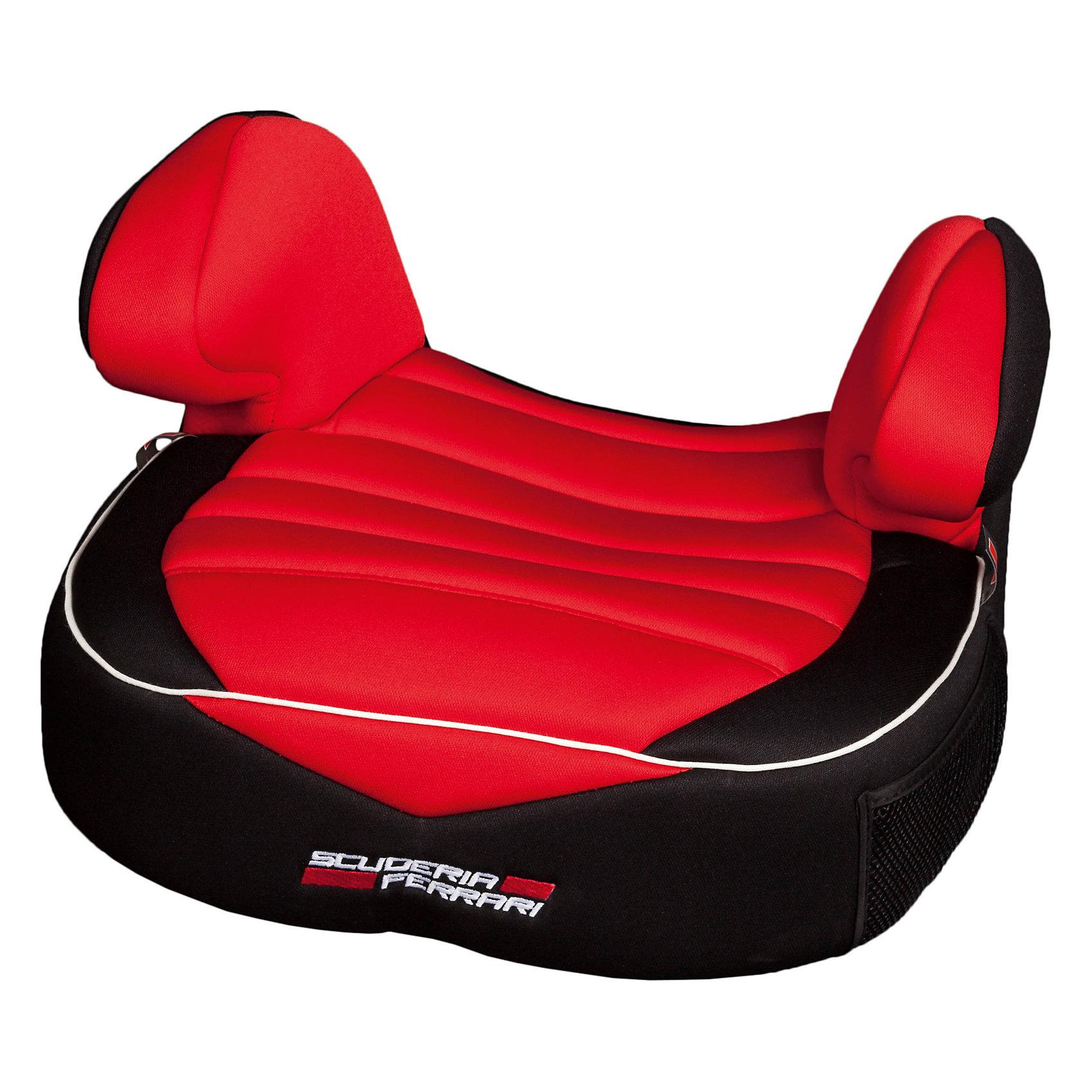 Автокресло Nania Dream 15-36 кг, corsa ferrariГруппа 2-3 (От 15 до 36 кг)<br>Характеристики:<br><br>• группа: 2/3;<br>• вес ребенка: 15-36 кг;<br>• способ установки: по ходу движения;<br>• способ крепления: штатные ремни безопасности автомобиля;<br>• функция бустера;<br>• размер: 43х41х26 см;<br>• вес: 1,43 кг.<br><br>Детское автокресло-бустер устанавливается на заднем сидении автомобиля или на переднем сидении, если отключена подушка безопасности. Бустер оснащен подлокотниками, поднимает ребенка над уровнем стандартного автомобильного сидения с целью правильно зафиксировать ремни безопасности. <br><br>Автокресло Dream, 15-36кг, Nania, corsa ferrari можно купить в нашем интернет-магазине.<br><br>Ширина мм: 430<br>Глубина мм: 410<br>Высота мм: 260<br>Вес г: 1430<br>Возраст от месяцев: 60<br>Возраст до месяцев: 144<br>Пол: Унисекс<br>Возраст: Детский<br>SKU: 5569332