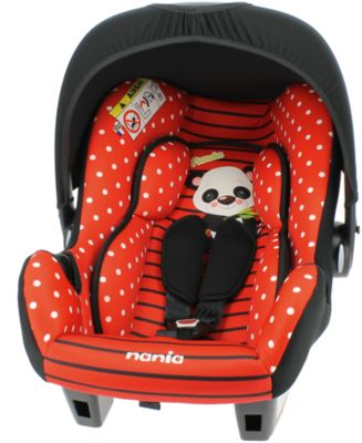 јвтокресло Nania Beone Sp 0-13 г, Panda Red
