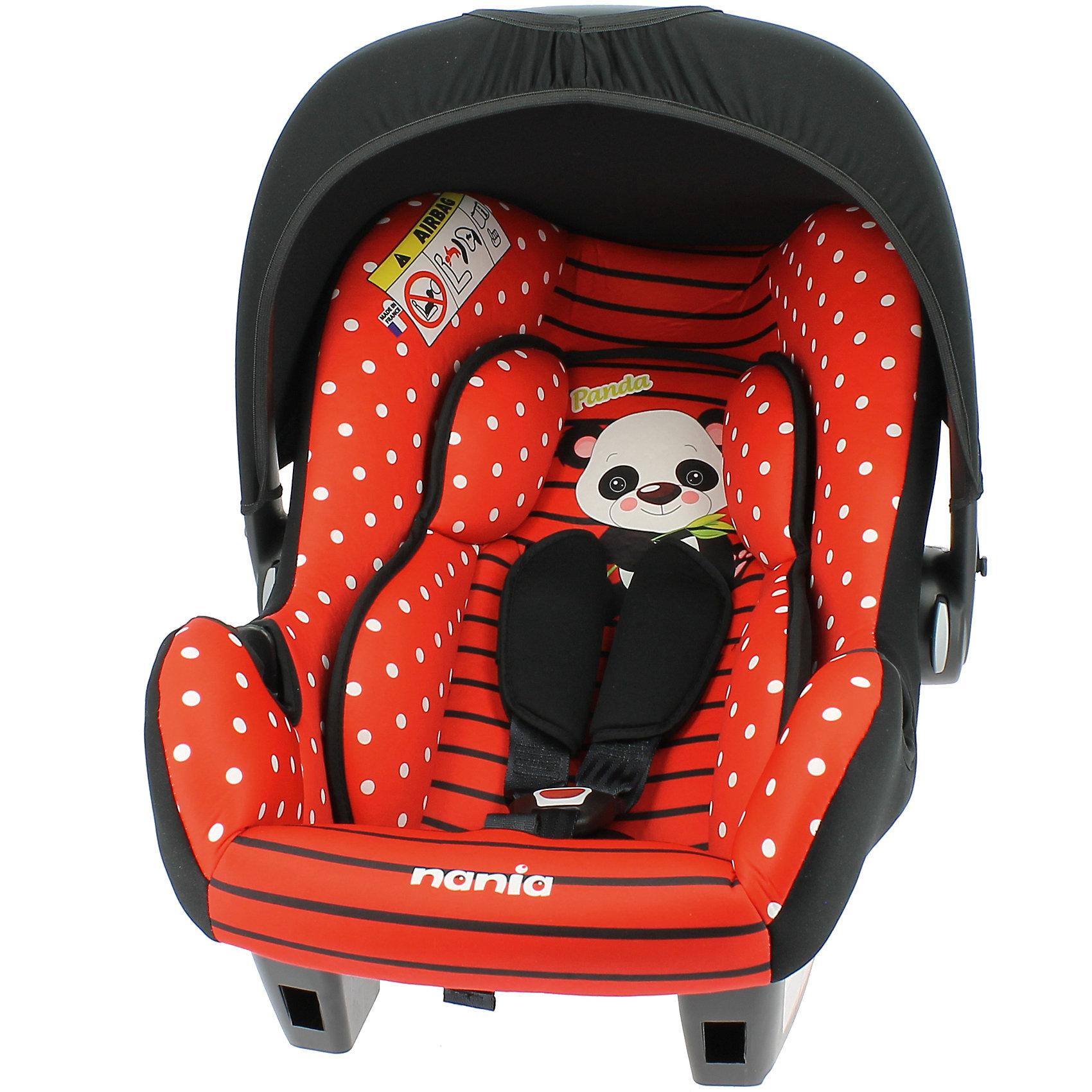 Автокресло Nania Beone SP, 0-13кг, panda redГруппа 0+ (До 13 кг)<br>Характеристики:<br><br>• группа: 0+;<br>• вес ребенка: до 13 кг;<br>• возраст ребенка: от рождения до 15 месяцев;<br>• способ установки: против хода движения;<br>• способ крепления: штатный ремень безопасности автомобиля;<br>• глубокая кресельная чаша;<br>• 3-х точечные ремни безопасности регулируются по длине и высоте;<br>• анатомический вкладыш для новорожденных;<br>• защитный капор от солнечных лучей;<br>• капор можно снять полностью;<br>• ручка для переноски автолюльки;<br>• функция качалки: автокресло раскачивается на ровной поверхности;<br>• материал: пластик, полиэстер;<br>• размеры автокресла: 70х47х40 см;<br>• размер сиденья: 32х30 см;<br>• вес автокресла: 2,9 кг;<br>• стандарт безопасности: ECE R44/04.<br><br>Автокресло Beone SP, 0-13 кг, Nania, panda red можно купить в нашем интернет-магазине.<br><br>Ширина мм: 390<br>Глубина мм: 720<br>Высота мм: 400<br>Вес г: 2970<br>Возраст от месяцев: 0<br>Возраст до месяцев: 8<br>Пол: Унисекс<br>Возраст: Детский<br>SKU: 5569334