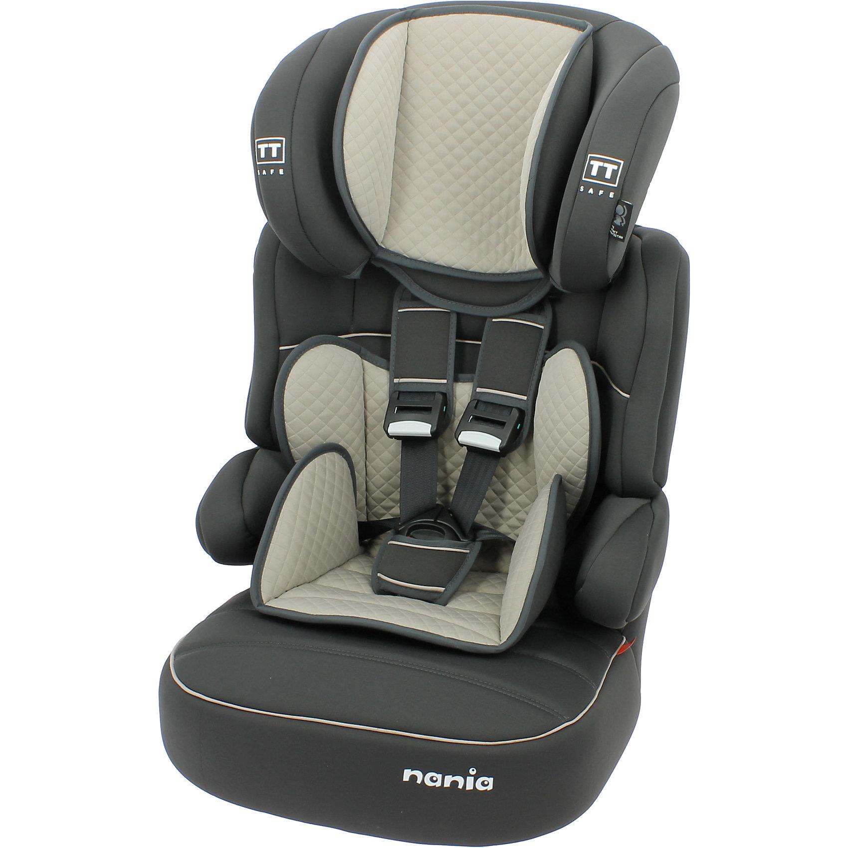 Автокресло Nania Beline SP LTD, 9-36кг, quilt shadowГруппа 1-2-3 (От 9 до 36 кг)<br>Характеристики:<br><br>• группа: 1/2/3;<br>• вес ребенка: 9-36 кг;<br>• возраст ребенка: от 8 месяцев до 12 лет;<br>• способ установки: по ходу движения автомобиля;<br>• способ крепления: штатные ремни безопасности автомобиля;<br>• вкладыш для маленького ребенка, имеется встроенный мягкий подголовник;<br>• вкладыш съемный, для подросшего ребенка остается бустер со спинкой;<br>• кресло оснащено подлокотниками с мягкой обивкой;<br>• высота подголовника регулируется в 5-ти положениях;<br>• чехлы автокресла съемные, стираются при температуре 30 градусов;<br>• маленький ребенок фиксируется встроенными 5-ти точечными ремнями автокресла, подросший малыш – 3-х точечными ремнями безопасности автомобиля;<br>• усиленная боковая защита SP - Side Protection;<br>• материал: пластик, полиэстер;<br>• размеры автокресла: 54x45x78 см;<br>• вес автокресла: 4,7 кг;<br>• стандарт безопасности: ECE R44/04.<br><br>Автокресло Beline SP LTD, 9-36кг, Nania, quilt shadow можно купить в нашем интернет-магазине.<br><br>Ширина мм: 450<br>Глубина мм: 450<br>Высота мм: 880<br>Вес г: 5200<br>Возраст от месяцев: 8<br>Возраст до месяцев: 144<br>Пол: Унисекс<br>Возраст: Детский<br>SKU: 5569338