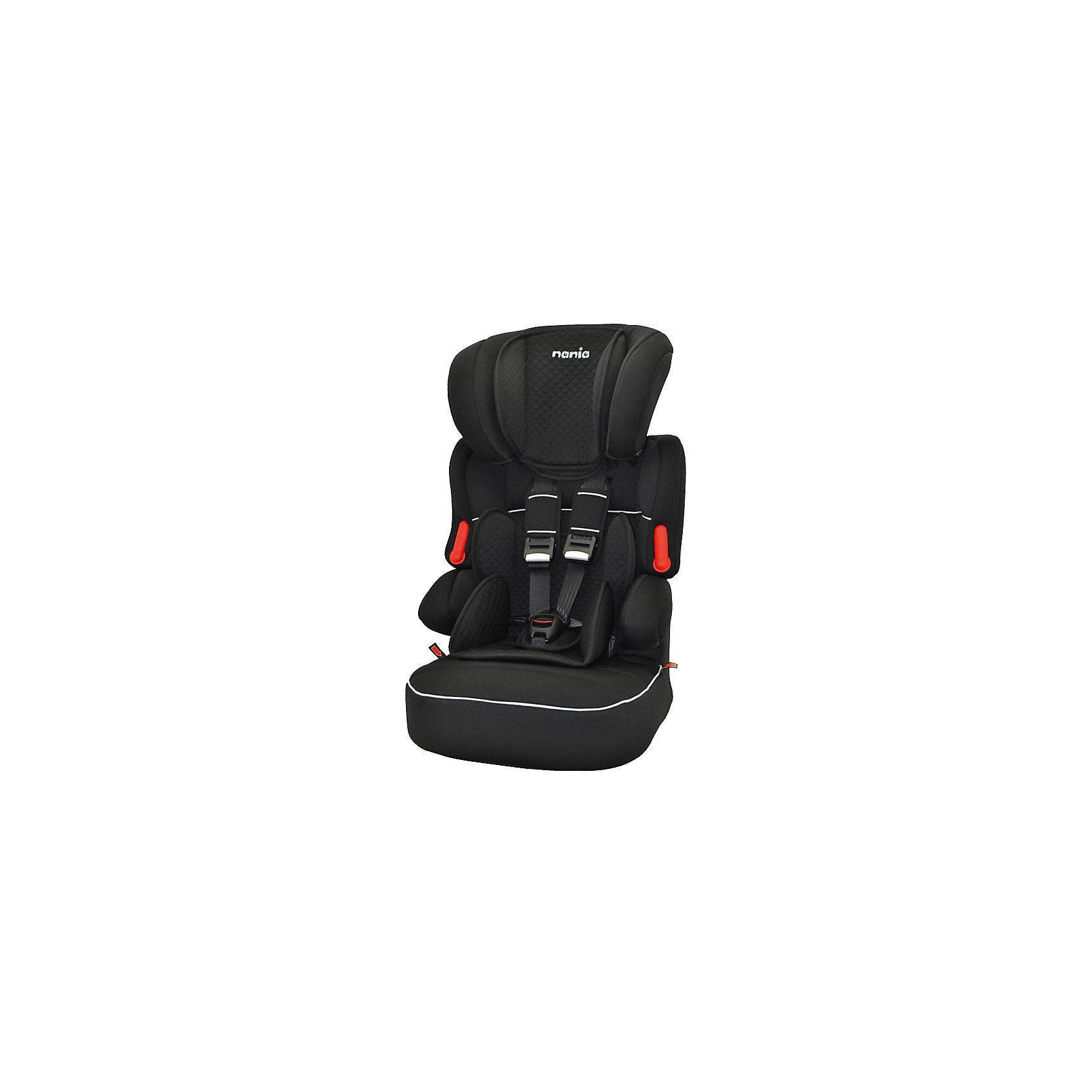 Автокресло Nania Beline SP LTD, 9-36кг, quilt blackГруппа 1-2-3 (От 9 до 36 кг)<br>Характеристики:<br><br>• группа: 1/2/3;<br>• вес ребенка: 9-36 кг;<br>• возраст ребенка: от 8 месяцев до 12 лет;<br>• способ установки: по ходу движения автомобиля;<br>• способ крепления: штатные ремни безопасности автомобиля;<br>• вкладыш для маленького ребенка, имеется встроенный мягкий подголовник;<br>• вкладыш съемный, для подросшего ребенка остается бустер со спинкой;<br>• кресло оснащено подлокотниками с мягкой обивкой;<br>• высота подголовника регулируется в 5-ти положениях;<br>• чехлы автокресла съемные, стираются при температуре 30 градусов;<br>• маленький ребенок фиксируется встроенными 5-ти точечными ремнями автокресла, подросший малыш – 3-х точечными ремнями безопасности автомобиля;<br>• усиленная боковая защита SP - Side Protection;<br>• материал: пластик, полиэстер;<br>• размеры автокресла: 54x45x78 см;<br>• вес автокресла: 4,7 кг;<br>• стандарт безопасности: ECE R44/04.<br><br>Автокресло Beline SP LTD, 9-36кг, Nania, quilt black можно купить в нашем интернет-магазине.<br><br>Ширина мм: 450<br>Глубина мм: 450<br>Высота мм: 880<br>Вес г: 5200<br>Возраст от месяцев: 8<br>Возраст до месяцев: 144<br>Пол: Унисекс<br>Возраст: Детский<br>SKU: 5569340