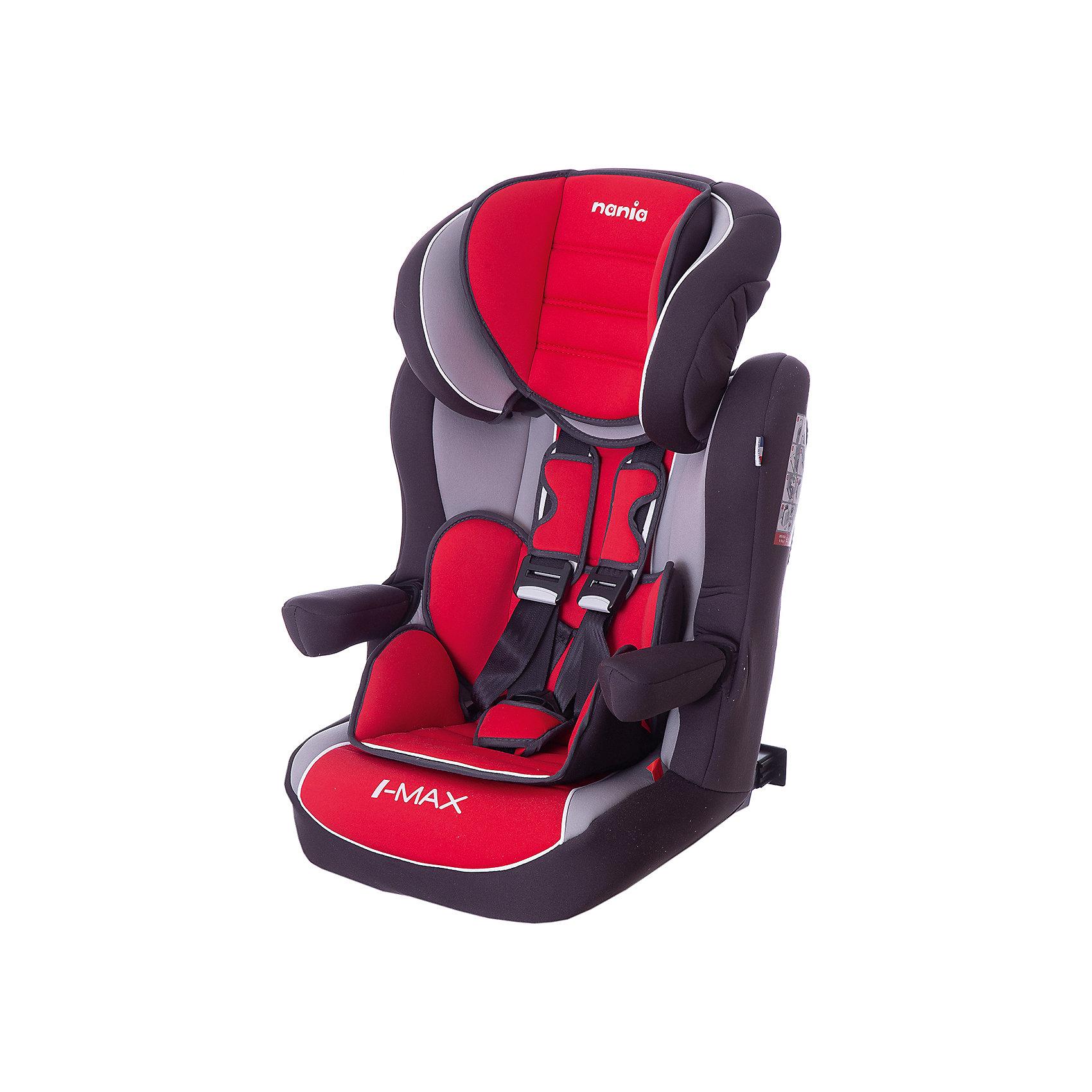 Автокресло Nania Imax SP LX Isofix, 9-36кг, agora carminГруппа 1-2-3 (От 9 до 36 кг)<br>Характеристики:<br><br>• группа: 1/2/3;<br>• вес ребенка: 9-36 кг;<br>• возраст ребенка: от 8 месяцев до 12 лет;<br>• способ установки: по ходу движения автомобиля;<br>• способ крепления: система Isofix;<br>• вкладыш для маленького ребенка, имеется встроенный мягкий подголовник;<br>• вкладыш съемный, для подросшего ребенка остается бустер со спинкой;<br>• кресло оснащено подлокотниками с мягкой обивкой;<br>• положение подлокотников можно регулировать;<br>• высота подголовника регулируется в 5-ти положениях;<br>• чехлы автокресла съемные, стираются при температуре 30 градусов;<br>• маленький ребенок фиксируется встроенными 5-ти точечными ремнями автокресла, подросший малыш – 3-х точечными ремнями безопасности автомобиля;<br>• усиленная боковая защита SP - Side Protection;<br>• материал: пластик, полиэстер;<br>• размеры автокресла: 454х45х88 см;<br>• вес автокресла: 4,7 кг;<br>• стандарт безопасности: ECE R44/04.<br><br>Автокресло Imax SP LX Isofix, 9-36кг, Nania, agora carmin можно купить в нашем интернет-магазине.<br><br>Ширина мм: 450<br>Глубина мм: 500<br>Высота мм: 710<br>Вес г: 4530<br>Возраст от месяцев: 8<br>Возраст до месяцев: 144<br>Пол: Унисекс<br>Возраст: Детский<br>SKU: 5569341