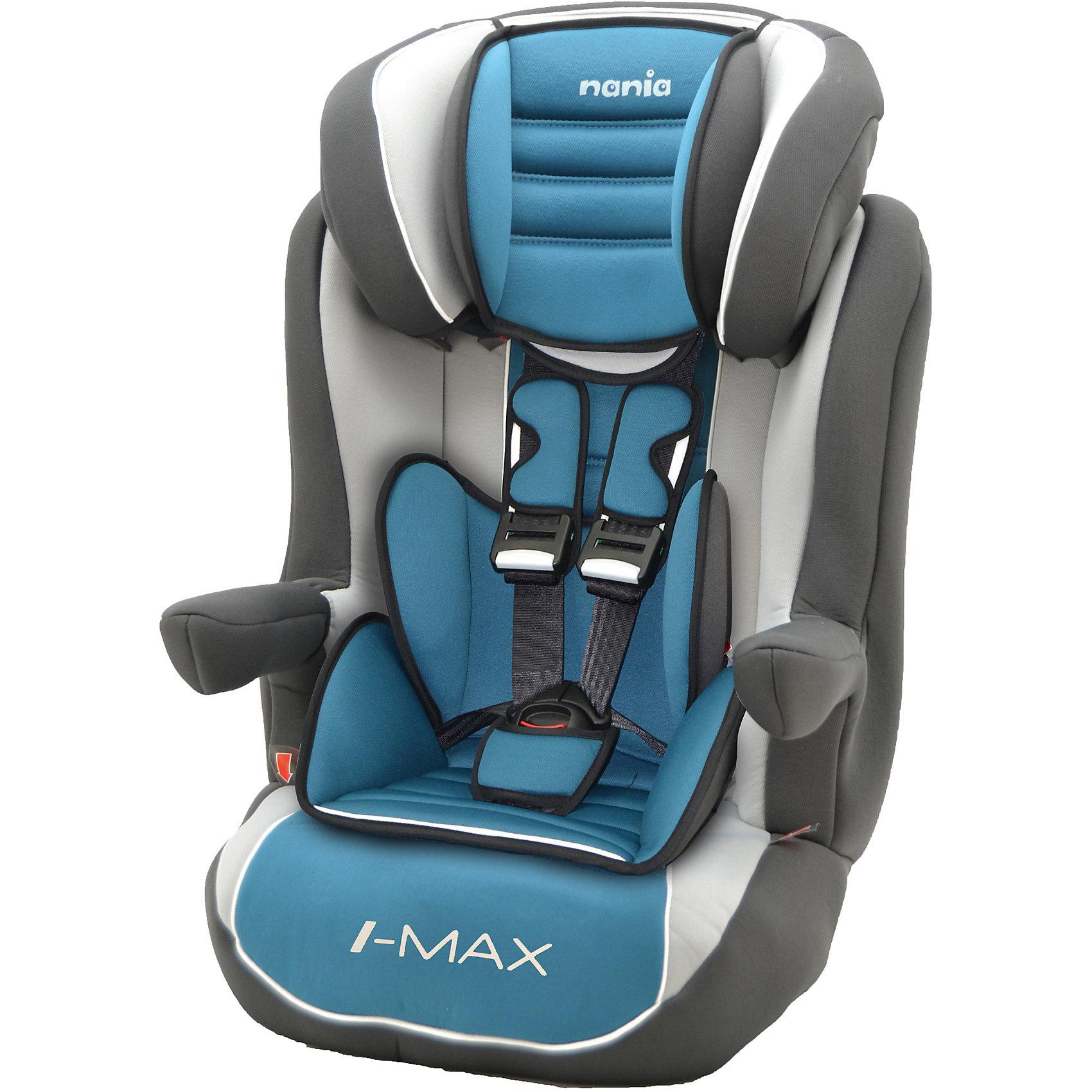 Автокресло Nania Imax SP LX ISOFIX , 9-36кг, agora petroleГруппа 1-2-3 (От 9 до 36 кг)<br>Характеристики:<br><br>• группа: 1/2/3;<br>• вес ребенка: 9-36 кг;<br>• возраст ребенка: от 8 месяцев до 12 лет;<br>• способ установки: по ходу движения автомобиля;<br>• способ крепления: система Isofix;<br>• вкладыш для маленького ребенка, имеется встроенный мягкий подголовник;<br>• вкладыш съемный, для подросшего ребенка остается бустер со спинкой;<br>• кресло оснащено подлокотниками с мягкой обивкой;<br>• положение подлокотников можно регулировать;<br>• высота подголовника регулируется в 5-ти положениях;<br>• чехлы автокресла съемные, стираются при температуре 30 градусов;<br>• маленький ребенок фиксируется встроенными 5-ти точечными ремнями автокресла, подросший малыш – 3-х точечными ремнями безопасности автомобиля;<br>• усиленная боковая защита SP - Side Protection;<br>• материал: пластик, полиэстер;<br>• размеры автокресла: 454х45х88 см;<br>• вес автокресла: 4,7 кг;<br>• стандарт безопасности: ECE R44/04.<br><br>Автокресло Imax SP LX Isofix, 9-36кг, Nania, agora petrole можно купить в нашем интернет-магазине.<br><br>Ширина мм: 450<br>Глубина мм: 500<br>Высота мм: 710<br>Вес г: 4530<br>Возраст от месяцев: 8<br>Возраст до месяцев: 144<br>Пол: Унисекс<br>Возраст: Детский<br>SKU: 5569342