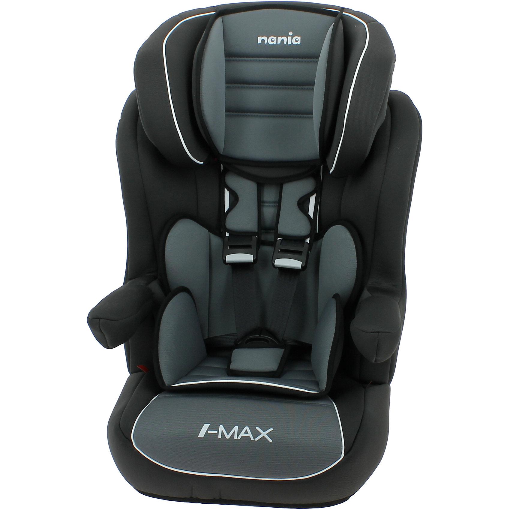 Автокресло Nania Imax SP LX ISOFIX, 9-36кг, agora stormГруппа 1-2-3 (От 9 до 36 кг)<br>Характеристики:<br><br>• группа: 1/2/3;<br>• вес ребенка: 9-36 кг;<br>• возраст ребенка: от 8 месяцев до 12 лет;<br>• способ установки: по ходу движения автомобиля;<br>• способ крепления: система Isofix;<br>• вкладыш для маленького ребенка, имеется встроенный мягкий подголовник;<br>• вкладыш съемный, для подросшего ребенка остается бустер со спинкой;<br>• кресло оснащено подлокотниками с мягкой обивкой;<br>• положение подлокотников можно регулировать;<br>• высота подголовника регулируется в 5-ти положениях;<br>• чехлы автокресла съемные, стираются при температуре 30 градусов;<br>• маленький ребенок фиксируется встроенными 5-ти точечными ремнями автокресла, подросший малыш – 3-х точечными ремнями безопасности автомобиля;<br>• усиленная боковая защита SP - Side Protection;<br>• материал: пластик, полиэстер;<br>• размеры автокресла: 454х45х88 см;<br>• вес автокресла: 4,7 кг;<br>• стандарт безопасности: ECE R44/04.<br><br>Автокресло Imax SP LX Isofix, 9-36кг, Nania, agora storm можно купить в нашем интернет-магазине.<br><br>Ширина мм: 450<br>Глубина мм: 500<br>Высота мм: 710<br>Вес г: 4530<br>Возраст от месяцев: 8<br>Возраст до месяцев: 144<br>Пол: Унисекс<br>Возраст: Детский<br>SKU: 5569343