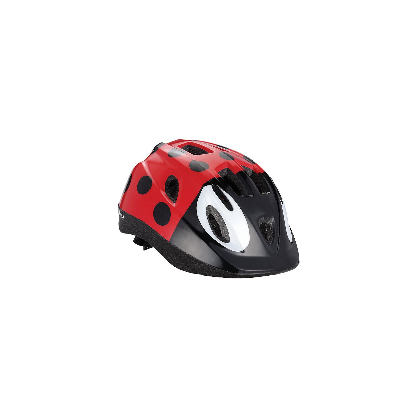 Летний шлем Жук Boogy , BBBЗащита, шлемы<br>Характеристики товара:<br><br>• 12 вентиляционных отверстий<br>• задние вентиляционные отверстия для оптимального воздушного потока<br>• сетка - защищает от насекомых<br>• регулируемые ремни для совершенной и удобной посадки<br>• легкая регулировка TwistClose системы, можно регулировать одной рукой <br>• моющиеся антибактериальные колодки<br>• светоотражающие наклейки сзади<br>• размеры: S (48-54 см) и M (52-56 см)<br>• страна производства: Тайвань<br><br>Активный отдых на свежем воздухе - лучшее времяпрепровождение летом. Неважно, что выбрал ребенок: самокат, беговел или велосипед,  в любом случае, шлем необходим по правилам техники безопасности. <br><br>Внешне шлем Boogy напоминает жука, что непременно порадует ребенка и у него не будет повода отказаться его надевать.<br><br>Летний шлем Жук Boogy можно купить в нашем интернет-магазине.<br><br>Ширина мм: 270<br>Глубина мм: 240<br>Высота мм: 180<br>Вес г: 500<br>Возраст от месяцев: 36<br>Возраст до месяцев: 144<br>Пол: Унисекс<br>Возраст: Детский<br>SKU: 5569385