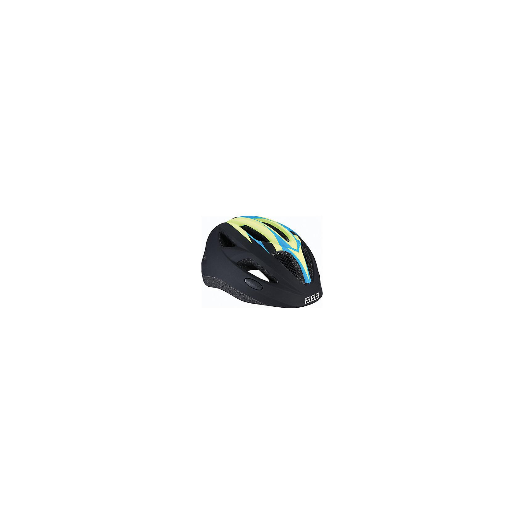 Летний шлем Hero матовый неон, BBBЗащита, шлемы<br>Характеристики товара:<br><br>• 11 вентиляционных отверстий<br>• задние вентиляционные отверстия<br>• сетка от насекомых<br>• регулируемые ремни для совершенной и удобной посадки<br>• легкая регулировка TwistClose системы, можно регулировать одной рукой <br>• моющиеся антибактериальные накладки<br>• светоотражающие наклейки сзади<br>• Задний светодиодный габарит, включающийся нажатием.<br>• страна производства: Тайвань<br><br>Безопасность превыше всего - девиз Hero. Активный отдых на свежем воздухе - лучшее времяпрепровождение летом. Неважно, что выбрал ребенок: самокат, беговел или велосипед,  в любом случае, шлем необходим по правилам техники безопасности.<br><br>Летний шлем Hero матовый неон можно купить в нашем интернет-магазине.<br><br>Ширина мм: 270<br>Глубина мм: 240<br>Высота мм: 180<br>Вес г: 500<br>Возраст от месяцев: 36<br>Возраст до месяцев: 144<br>Пол: Унисекс<br>Возраст: Детский<br>SKU: 5569386