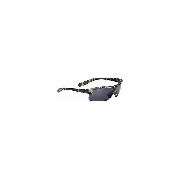 Очки солнцезащитные, матово-зеленый камуфляж, BBBСолнцезащитные очки<br>Характеристики товара:<br><br>• небольшой размер<br>• прочная монолитная оправа из поликарбоната<br>• округлая форма линз обеспечивает защиту от солнца, пыли и ветра<br>• 100% защита от ультрафиолета<br>• мешочек для хранения в комплекте<br><br>Очки солнцезащитные, матово-зеленый камуфляж, BBB можно купить в нашем интернет-магазине.<br><br>Ширина мм: 230<br>Глубина мм: 120<br>Высота мм: 30<br>Вес г: 200<br>Возраст от месяцев: 36<br>Возраст до месяцев: 144<br>Пол: Унисекс<br>Возраст: Детский<br>SKU: 5569390