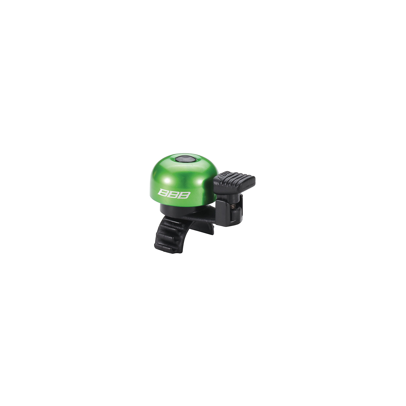 Звонок EasyFit  зеленый, BBBАксеcсуары для велосипедов<br>Характеристики товара: <br><br>• цвет: зеленый<br>• облегченный алюминиевый звонок с пружиной из нержавеющей стали <br>• быстросъемный <br>• крепление с резиновым ремешком<br>• подходит для всех видов рулей<br>• прочная и легкая конструкция<br><br>Звонок EasyFit  зеленый, BBB можно купить в нашем интернет-магазине.<br><br>Ширина мм: 160<br>Глубина мм: 80<br>Высота мм: 40<br>Вес г: 31<br>Возраст от месяцев: 36<br>Возраст до месяцев: 144<br>Пол: Унисекс<br>Возраст: Детский<br>SKU: 5569396
