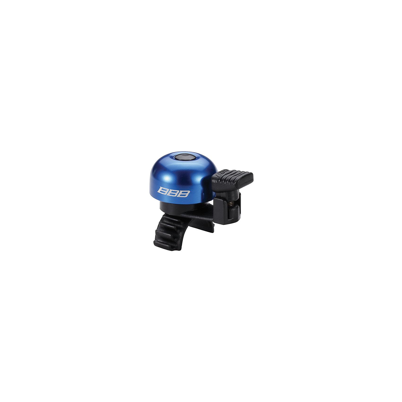 Звонок EasyFit  синий, BBBАксеcсуары для велосипедов<br>Характеристики товара: <br><br>• цвет: синий<br>• облегченный алюминиевый звонок с пружиной из нержавеющей стали <br>• быстросъемный <br>• крепление с резиновым ремешком<br>• подходит для всех видов рулей<br>• прочная и легкая конструкция<br><br>Звонок EasyFit  синий, BBB можно купить в нашем интернет-магазине.<br><br>Ширина мм: 160<br>Глубина мм: 80<br>Высота мм: 40<br>Вес г: 31<br>Возраст от месяцев: 36<br>Возраст до месяцев: 144<br>Пол: Унисекс<br>Возраст: Детский<br>SKU: 5569398