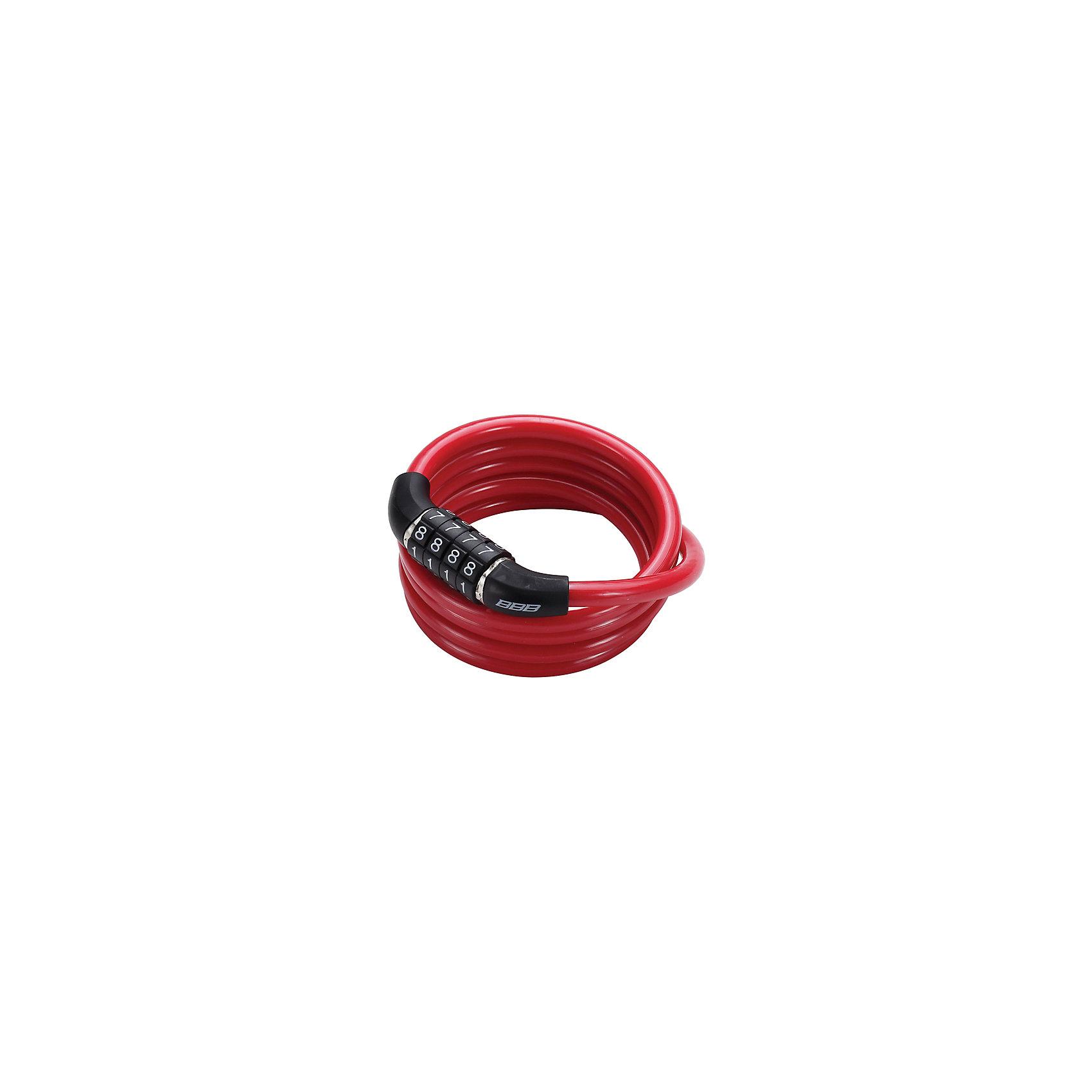 Замок велосипедный QuickCode кодовый, красный, BBBАксеcсуары для велосипедов<br>Характеристики товара:  <br><br>• толстый и прочный скрученный трос обеспечивает максимальную защиту<br>• цвет: красный<br>• четырехзначный код (фиксированный)<br>• надежный механизм замка<br>• оплетка троса для защиты вашего велосипеда от сколов и царапин<br>• размеры: 8мм Х 1200мм.<br>• совместим с BBL-92 CableFix<br><br>Замок велосипедный QuickCode кодовый можно купить в нашем интернет-магазине.<br><br>Ширина мм: 250<br>Глубина мм: 170<br>Высота мм: 45<br>Вес г: 99<br>Возраст от месяцев: 36<br>Возраст до месяцев: 144<br>Пол: Унисекс<br>Возраст: Детский<br>SKU: 5569404