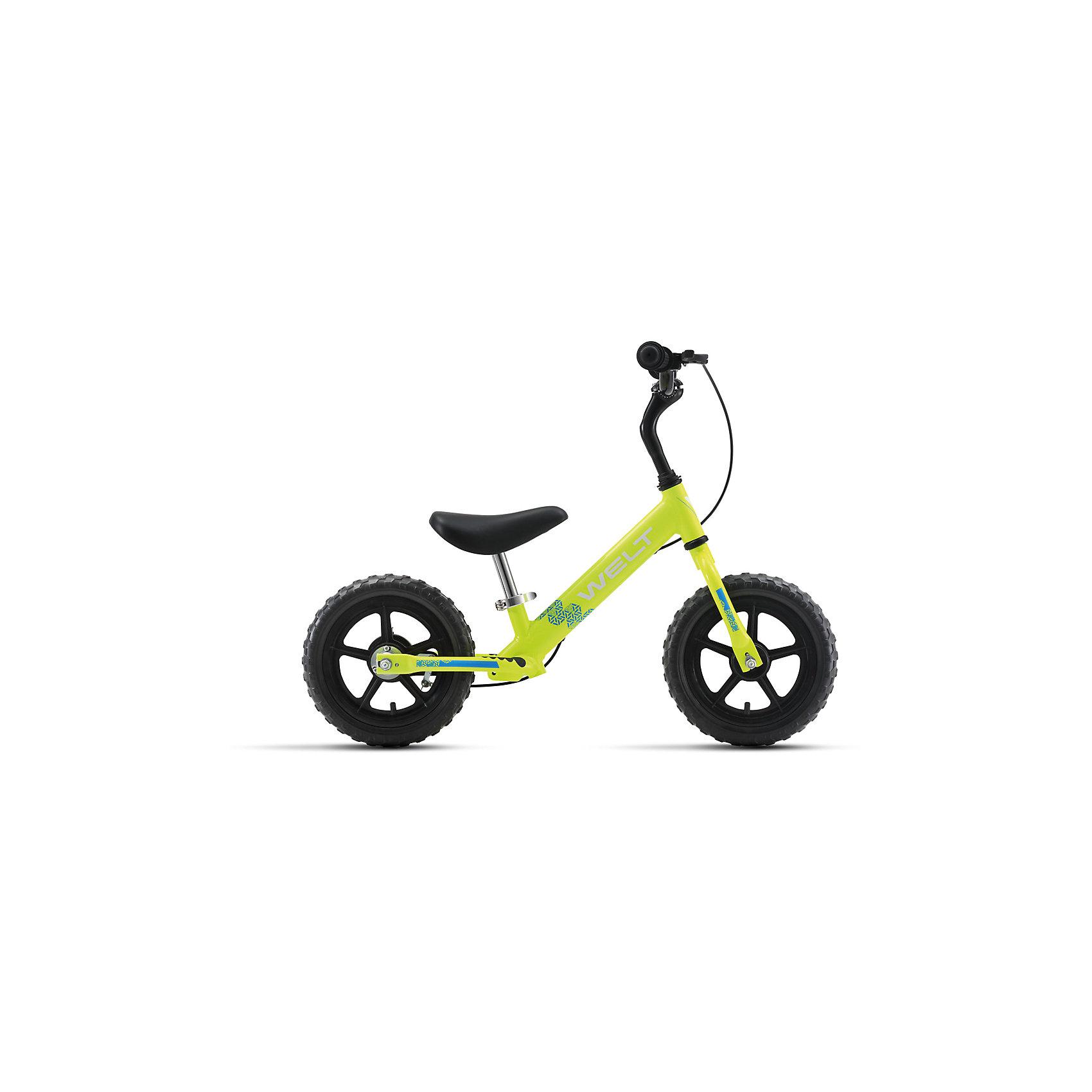 Беговел  Zebra 12, салатово-голубой, WeltВелосипеды детские<br>Характеристики товара:<br><br>• цвет: салатовый, голубой <br>• возраст: от 3 лет<br>• рама: Alloy 6061 (алюминий)<br>• диаметр колес: 12<br>• тип вилки: жесткая (Rigid)<br>• тип тормозов: ручной (roller)<br>• тип рулевой колонки:  резьбовая<br>• покрышки: PVC <br><br>Беговел для самых маленьких. Колеса 12 дюймов, промышленные подшипники втулок, алюминиевая рама и компоненты, ручной тормоз, очень низкий вес - всего 3,6 кг в сборе. То, что надо для прогулки. <br><br>Беговел Зебра 12 можно купить в нашем интернет-магазине.<br><br>Ширина мм: 1450<br>Глубина мм: 200<br>Высота мм: 800<br>Вес г: 16500<br>Возраст от месяцев: 24<br>Возраст до месяцев: 48<br>Пол: Унисекс<br>Возраст: Детский<br>SKU: 5569414