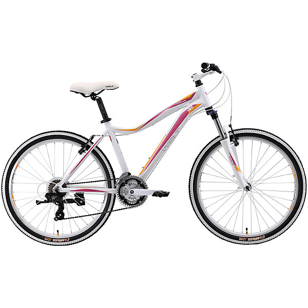 Велосипед  Edelweiss 1.0, 17 дюймов, бело-фиолетовый, WeltВелосипеды детские<br>Характеристики товара:<br><br>• цвет: белый, фиолетовый<br>• рама: Alloy 6061 <br>• размер рамы: 16,20<br>• диаметр колес: 26<br>• кол-во скоростей: 21<br>• тип вилки: амортизационная<br>• вилка: WELT MRK MLO 100mm<br>• переключатель задний : Shimano TY-300<br>• переключатель передний: Shimano TZ-30<br>• шифтеры: Shimano EF-51<br>• тип тормозов: дисковые механические<br>• тормоза: JAK-5<br>• система:  steel 42/34/24 <br>• кассета: Shimano HG20 12-28T<br>• тип рулевой колонки:  1-1/8 безрезьбовая<br>• покрышки: Compass 26 x 2,1 <br>• страна бренда: Германия <br><br>Велосипед  Edelweiss 1.0 D -это модель, которая создана  для кросс-кантри. Большие колеса, мягкая амортизация позволят преодолеть путь, проходящий по загородному бездорожью. <br><br>Велосипед  Edelweiss 1.0 D, 17 дюймов, бело-фиолетовый, Welt можно купить в нашем интернет-магазине.<br>Ширина мм: 1450; Глубина мм: 200; Высота мм: 800; Вес г: 16500; Возраст от месяцев: 168; Возраст до месяцев: 2147483647; Пол: Женский; Возраст: Детский; SKU: 5569418;