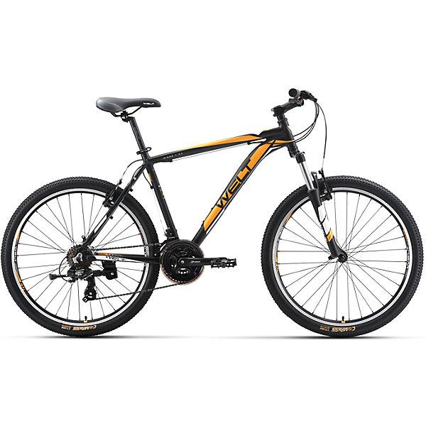 Велосипед  Ridge 1.0 V, 16 дюймов, черно-оранжевый, WeltВелосипеды детские<br>Характеристики товара:<br><br>• цвет: черный, оранжевый<br>• возраст: от 6 лет<br>• механические тормоза<br>• цельнолитая контрукция вилки, ход 100мм<br>• подножка<br>• диаметр колес: 16<br>• кол-во скоростей: 21<br>• вилка: Suntour XCT HLO 100mm (амортизационная)<br>• переключатель задний : Shimano TY-300<br>• переключатель передний: Shimano TZ-30<br>• шифтеры: Shimano EF-51<br>• тип тормозов: V-brake<br>• тормоза: Alloy YX-122<br>• система:  Prowheel alloy 42/34/24 <br>• кассета: Shimano HG20 12-28T<br>• тип рулевой колонки:  1-1/8 безрезьбовая<br>• покрышки: Compass 26 x 2,1<br>• страна бренда: Германия<br><br>Велосипед  Ridge 1.0 V, рама которого выполнена из алюминиевого сплава. Колеса на двойных ободах. Отличают эту модель от остальных дисковые тормоза, более технологичные по сравнению с ободными. <br><br>Этот универсальный велосипед можно эксплуатировать в городе или за его пределами.<br><br>Велосипед  Ridge 1.0 V, 16 дюймов, черно-оранжевый, Welt можно купить в нашем интернет-магазине.<br><br>Ширина мм: 1450<br>Глубина мм: 200<br>Высота мм: 800<br>Вес г: 16500<br>Возраст от месяцев: 168<br>Возраст до месяцев: 2147483647<br>Пол: Унисекс<br>Возраст: Детский<br>SKU: 5569423