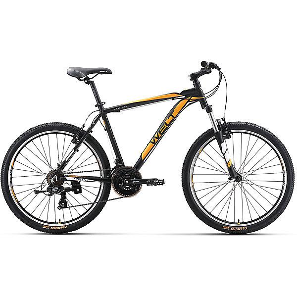 Велосипед  Ridge 1.0 V, 18 дюймов, черно-оранжевый, WeltВелосипеды детские<br>Характеристики товара:<br><br>• цвет: черный, оранжевый<br>• возраст: от 6 лет<br>• механические тормоза<br>• цельнолитая контрукция вилки, ход 100мм<br>• подножка<br>• диаметр колес: 18<br>• кол-во скоростей: 21<br>• вилка: Suntour XCT HLO 100mm (амортизационная)<br>• переключатель задний : Shimano TY-300<br>• переключатель передний: Shimano TZ-30<br>• шифтеры: Shimano EF-51<br>• тип тормозов: V-brake<br>• тормоза: Alloy YX-122<br>• система:  Prowheel alloy 42/34/24 <br>• кассета: Shimano HG20 12-28T<br>• тип рулевой колонки:  1-1/8 безрезьбовая<br>• покрышки: Compass 26 x 2,1<br>• страна бренда: Германия<br><br>Велосипед  Ridge 1.0 V, рама которого выполнена из алюминиевого сплава. Колеса на двойных ободах. Отличают эту модель от остальных дисковые тормоза, более технологичные по сравнению с ободными. <br><br>Этот универсальный велосипед можно эксплуатировать в городе или за его пределами.<br><br>Велосипед  Ridge 1.0 V, 18 дюймов, черно-оранжевый, Welt можно купить в нашем интернет-магазине.<br>Ширина мм: 1450; Глубина мм: 200; Высота мм: 800; Вес г: 16500; Возраст от месяцев: 168; Возраст до месяцев: 2147483647; Пол: Унисекс; Возраст: Детский; SKU: 5569424;
