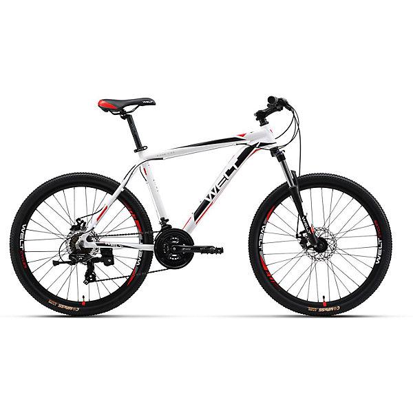 Велосипед  Ridge 1.0 D, 18 дюймов, бело-черный, WeltВелосипеды детские<br>Характеристики товара:<br><br>• цвет: белый, черный<br>• возраст: от 6 лет<br>• механические тормоза<br>• цельнолитая контрукция вилки, ход 100мм<br>• подножка<br>• диаметр колес: 18<br>• кол-во скоростей: 21<br>• вилка: Suntour XCT HLO 100mm (амортизационная)<br>• переключатель задний : Shimano TY-300<br>• переключатель передний: Shimano TZ-30<br>• шифтеры: Shimano EF-51<br>• тип тормозов: V-brake<br>• тормоза: Alloy YX-122<br>• система:  Prowheel alloy 42/34/24 <br>• кассета: Shimano HG20 12-28T<br>• тип рулевой колонки:  1-1/8 безрезьбовая<br>• покрышки: Compass 26 x 2,1<br>• страна бренда: Германия<br><br>Велосипед  Ridge 1.0 V, рама которого выполнена из алюминиевого сплава. Колеса на двойных ободах. Отличают эту модель от остальных дисковые тормоза, более технологичные по сравнению с ободными. <br><br>Этот универсальный велосипед можно эксплуатировать в городе или за его пределами.<br><br>Велосипед  Ridge 1.0 V, 18 дюймов, бело-черный, Welt можно купить в нашем интернет-магазине.<br>Ширина мм: 1450; Глубина мм: 200; Высота мм: 800; Вес г: 16500; Возраст от месяцев: 168; Возраст до месяцев: 2147483647; Пол: Унисекс; Возраст: Детский; SKU: 5569426;