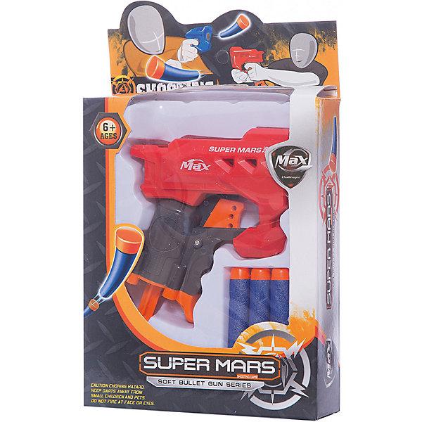 Бластер с мягкими 3-мя снарядами, JunfaИгрушечное оружие<br>Бластер с мягкими 3-мя снарядами, Junfa (Джунфа)<br><br>Характеристики:<br><br>• безопасен для детей<br>• в комплекте: бластер, 3 снаряда<br>• размер упаковки: 15х4х23 см<br>• вес: 135 грамм<br><br>Бластер - любимое оружие многих мальчишек. Он точно стреляет в цель, не  оставляя противнику шансов на победу. В комплект Junfa входят три снаряда и крутой бластер, выполненный в красном и черном цветах. Снаряды мягкие, благодаря чему ребенок не травмируется даже при попадании с близкого расстояния. Игра с бластером поможет развить меткость и координацию движений.<br><br>Бластер с мягкими 3-мя снарядами, Junfa (Джунфа) вы можете купить в нашем интернет-магазине.<br>Ширина мм: 150; Глубина мм: 230; Высота мм: 40; Вес г: 135; Возраст от месяцев: 36; Возраст до месяцев: 2147483647; Пол: Мужской; Возраст: Детский; SKU: 5571407;
