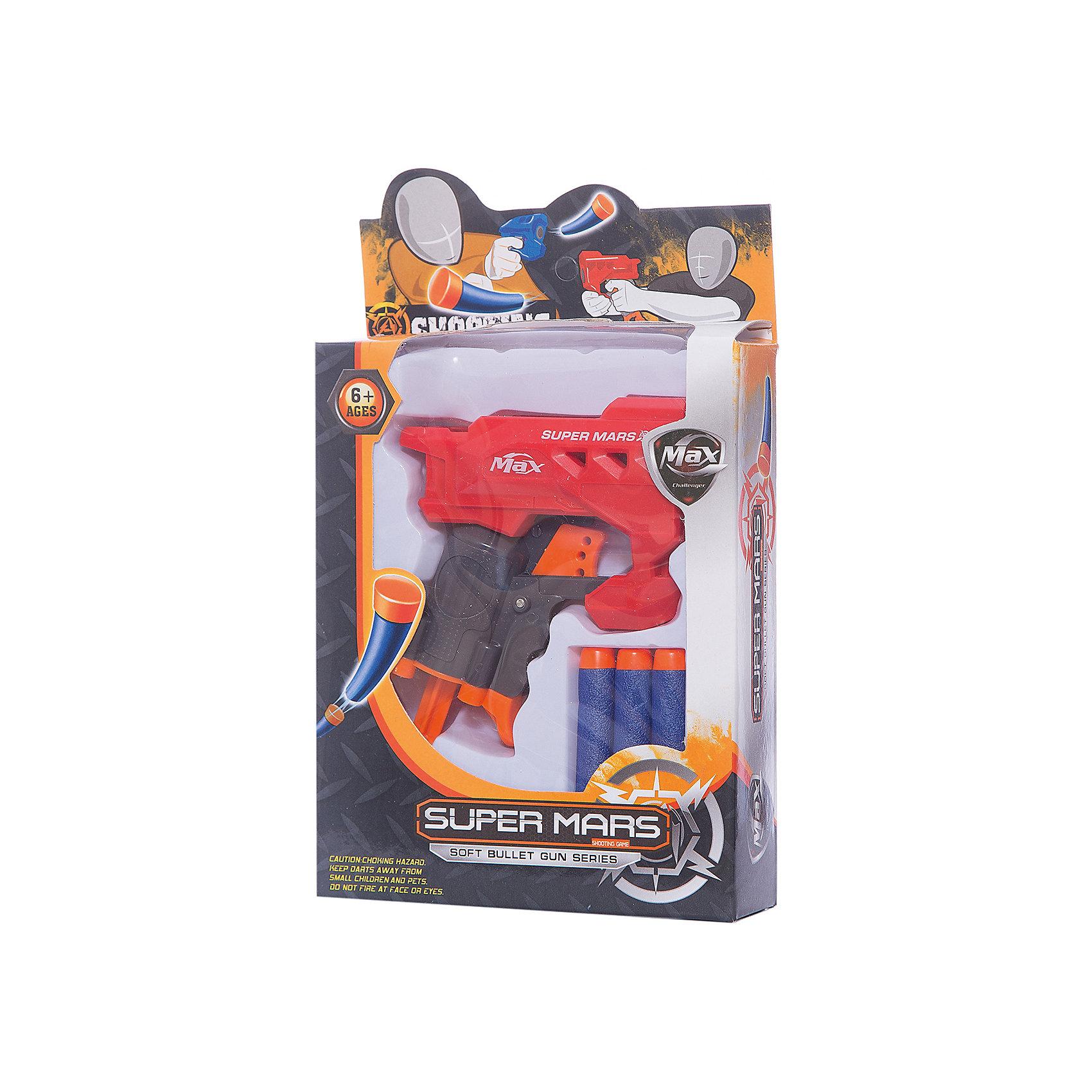 Бластер с мягкими 3-мя снарядами, JunfaБластеры, пистолеты и прочее<br>Бластер с мягкими 3-мя снарядами, Junfa (Джунфа)<br><br>Характеристики:<br><br>• безопасен для детей<br>• в комплекте: бластер, 3 снаряда<br>• размер упаковки: 15х4х23 см<br>• вес: 135 грамм<br><br>Бластер - любимое оружие многих мальчишек. Он точно стреляет в цель, не  оставляя противнику шансов на победу. В комплект Junfa входят три снаряда и крутой бластер, выполненный в красном и черном цветах. Снаряды мягкие, благодаря чему ребенок не травмируется даже при попадании с близкого расстояния. Игра с бластером поможет развить меткость и координацию движений.<br><br>Бластер с мягкими 3-мя снарядами, Junfa (Джунфа) вы можете купить в нашем интернет-магазине.<br><br>Ширина мм: 150<br>Глубина мм: 230<br>Высота мм: 40<br>Вес г: 135<br>Возраст от месяцев: 36<br>Возраст до месяцев: 2147483647<br>Пол: Мужской<br>Возраст: Детский<br>SKU: 5571407