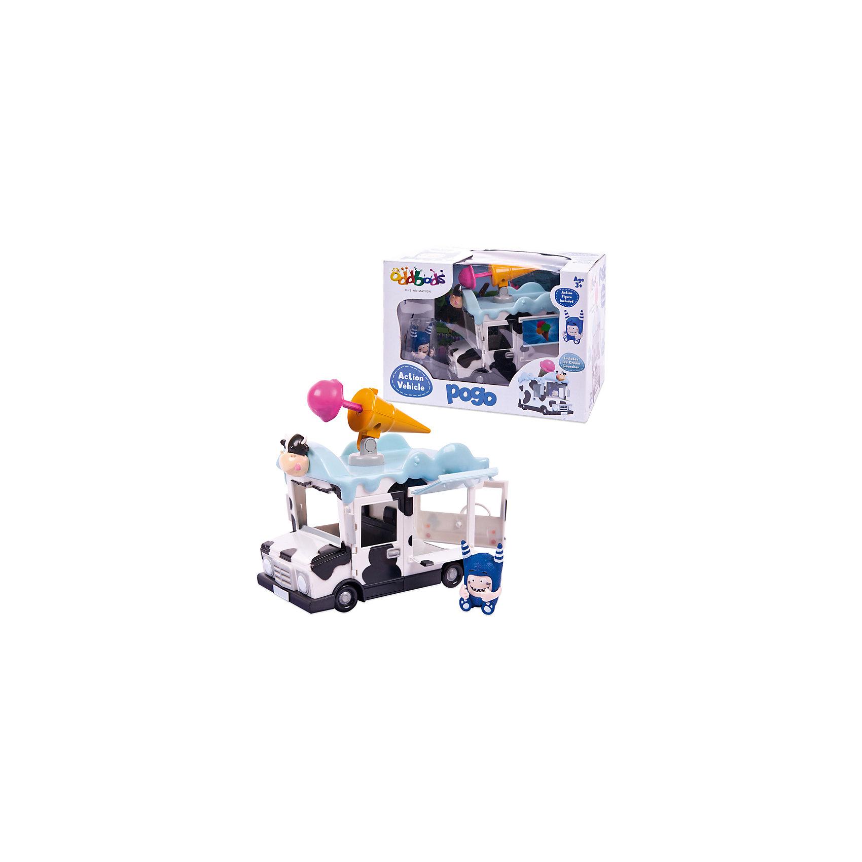 Набор Чуддики Фигурка Пого в наборе c машинкой, 4 см, OddbodsЛюбимые герои<br>Набор Чуддики Фигурка Пого в наборе c машинкой, 4 см, Oddbods (Оддбодики)<br><br>Характеристики:<br><br>• в комплекте: фигурка Пого, машинка, снаряд<br>• высота фигурки: 4 см<br>• материал: пластик<br>• размер упаковки: 15,6х16х23 см<br>• вес: 375 грамм<br><br>Oddbods - мультсериал о жизни забавных монстриков-телепузов. В набор Чуддики входит фигурка Пого, машинка и снаряд. Машинка имеет интересную окраску, напоминающую корову. Дверцы автомобиля открываются, а верх машины украшен забавной пушкой в виде рожка мороженого. При нажатии на кнопку рожок выстреливает снарядом мороженого. Для такого транспорта Пого всегда придумает самые необычные приключения!<br><br>Набор Чуддики Фигурка Пого в наборе c машинкой, 4 см, Oddbods (Оддбодики) вы можете купить в нашем интернет-магазине.<br><br>Ширина мм: 230<br>Глубина мм: 160<br>Высота мм: 156<br>Вес г: 375<br>Возраст от месяцев: 36<br>Возраст до месяцев: 2147483647<br>Пол: Унисекс<br>Возраст: Детский<br>SKU: 5571414