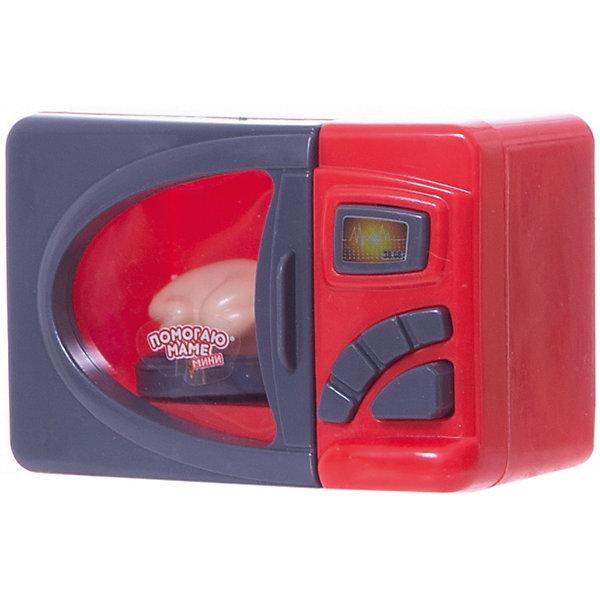 Микроволновая печь с курицей, со светом, ABtoysИгрушечная бытовая техника<br>Микроволновая печь с курицей, со светом, ABtoys (АБтойс)<br><br>Характеристики:<br><br>• световые эффекты<br>• в комплекте: микроволновая печь, курица<br>• материал: пластик<br>• батарейки : АА - 2 шт. (не входят в комплект)<br>• размер упаковки: 15,5х9х17 см<br>• вес: 200 грамм<br><br>Микроволновая печь от бренда ABtoys порадует ребенка высокой реалистичностью и детализацией. Подобно настоящей микроволновой печи, игрушечный прибор светится и даже крутит подставку. В комплект входит игрушечная курица, с которой ребенок сможет начать процесс использования микроволновой печи. Играя, ребенок научится справляться с игрушечной техникой, чтобы потом помогать взрослым по дому. Для работы необходимы две батарейки АА (не входят в комплект).<br><br>Микроволновую печь с курицей, со светом, ABtoys (АБтойс) вы можете купить в нашем интернет-магазине.<br><br>Ширина мм: 155<br>Глубина мм: 90<br>Высота мм: 170<br>Вес г: 200<br>Возраст от месяцев: 36<br>Возраст до месяцев: 2147483647<br>Пол: Женский<br>Возраст: Детский<br>SKU: 5571426