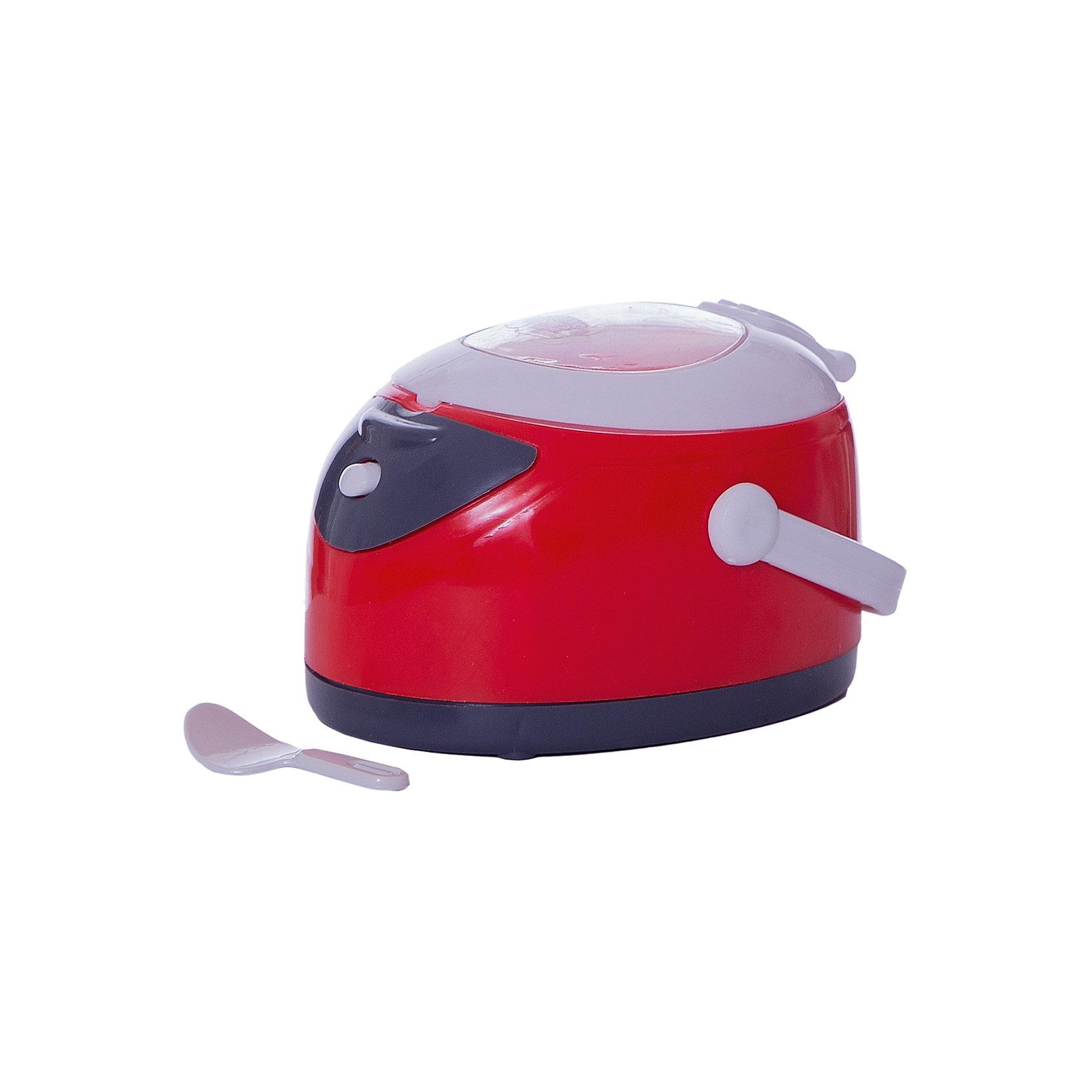 Мультиварка в наборе с ложкой, со световыми эффектами, ABtoysИгрушечная бытовая техника<br>Мультиварка в наборе с ложкой, со световыми эффектами, ABtoys (АБтойс)<br><br>Характеристики:<br><br>• световые эффекты<br>• реалистичные звуки<br>• в комплекте: мультиварка, ложка<br>• материал: пластик<br>• батарейки : АА - 2 шт. (не входят в комплект)<br>• размер упаковки: 15,5х9х17 см<br>• вес: 200 грамм<br><br>Игрушечная мультиварка станет любимым кухонным прибором ребенка, благодаря своей реалистичности. Игрушка очень похожа на свой прототип, оснащена световыми эффектами, звуком и вибрацией, имитирующей приготовление пищи. Как и настоящая мультиварка, игрушка имеет удобную ручку для переноски. В комплект входит ложка, которой ребенок сможет помешивать еду во время приготовления. Играя с реалистичной мультиваркой, юный помощник научится справляться с бытовой техникой, чтобы в дальнейшем с легкостью помогать маме. Для работы необходимы две батарейки АА (не входят в комплект).<br><br>Мультиварку в наборе с ложкой, со световыми эффектами, ABtoys (АБтойс) вы можете купить в нашем интернет-магазине.<br><br>Ширина мм: 155<br>Глубина мм: 90<br>Высота мм: 170<br>Вес г: 200<br>Возраст от месяцев: 36<br>Возраст до месяцев: 2147483647<br>Пол: Женский<br>Возраст: Детский<br>SKU: 5571427